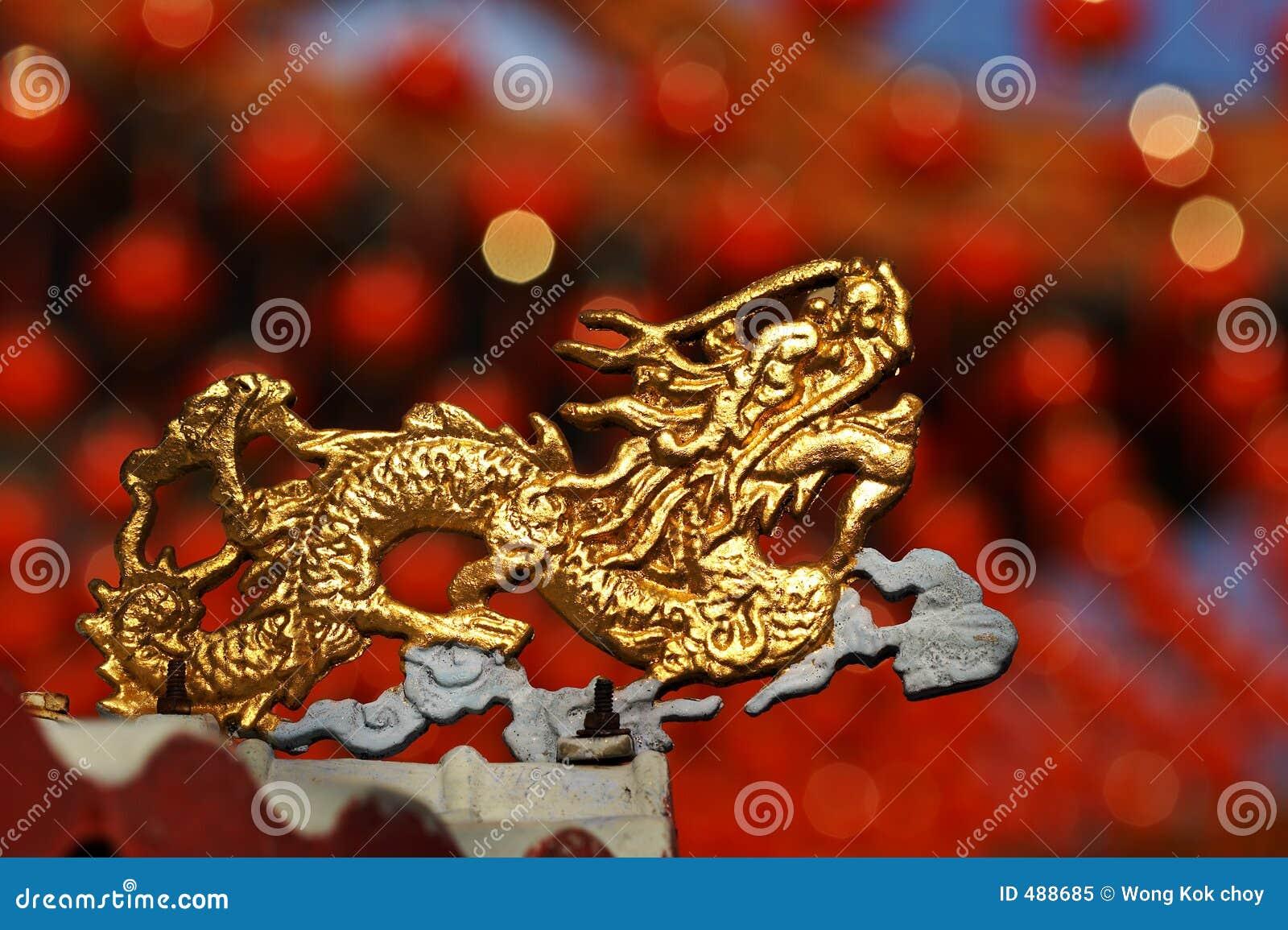 дракон золотистый