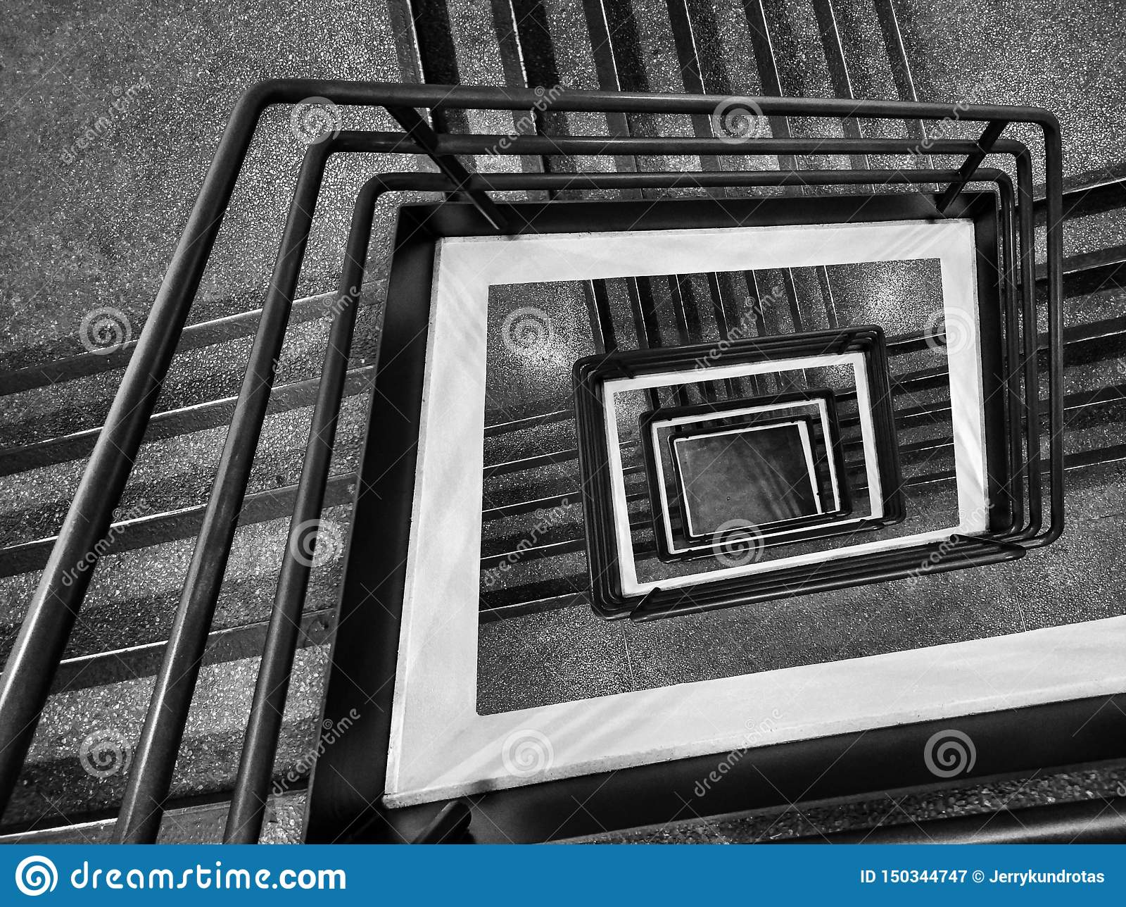 Драматическая точка зрения лестницы