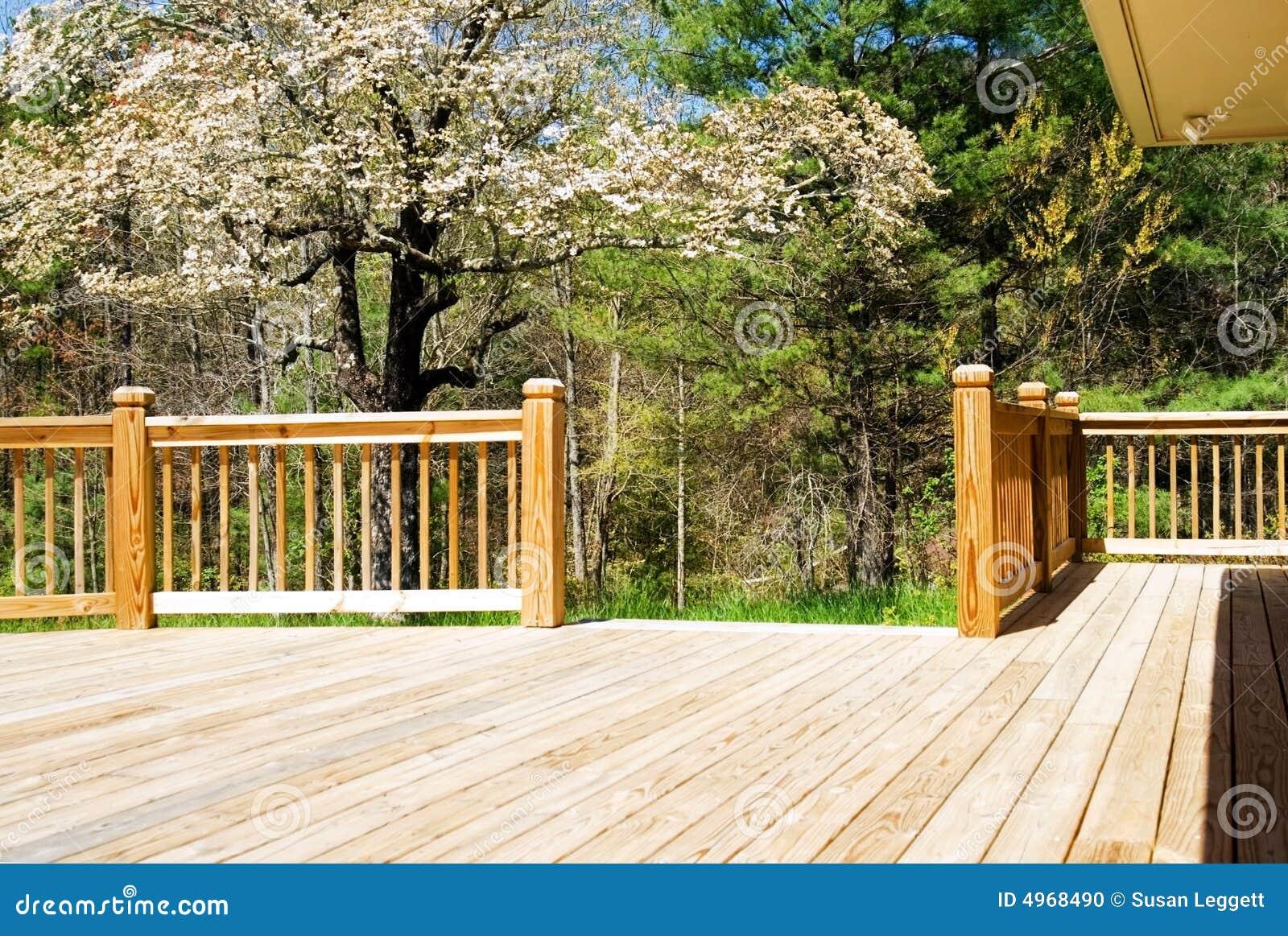 древесина весны палубы широкая