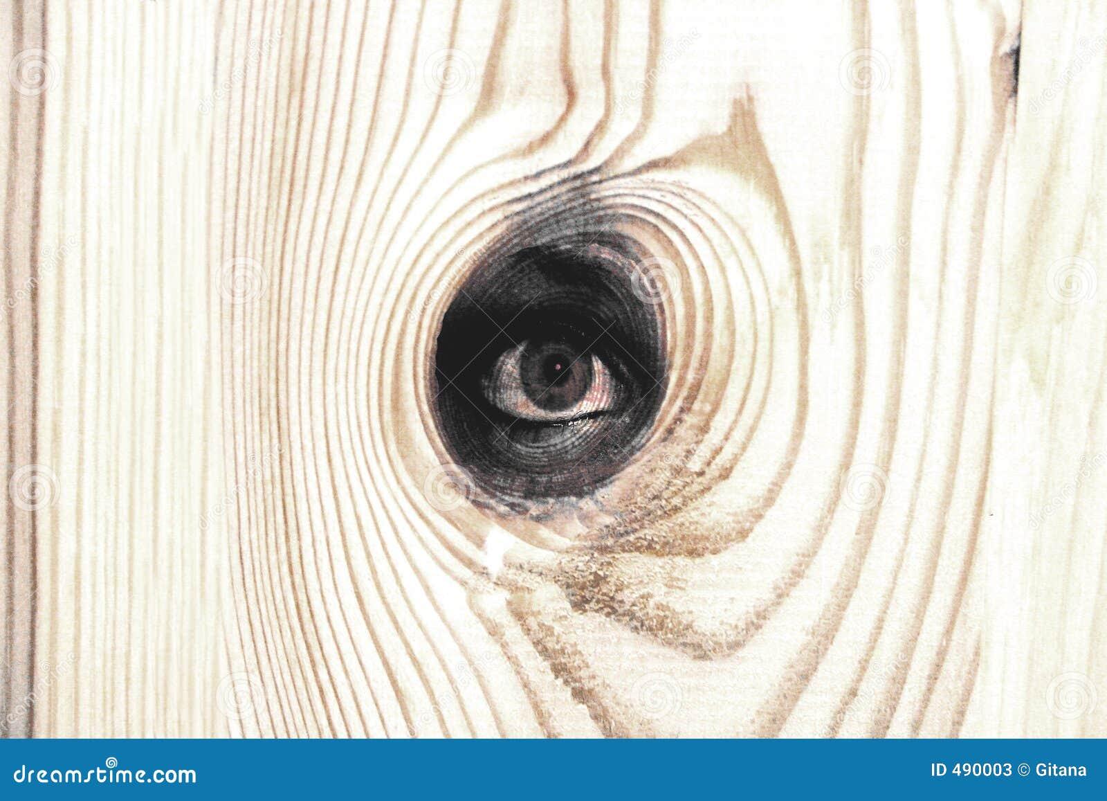 древесина глаза