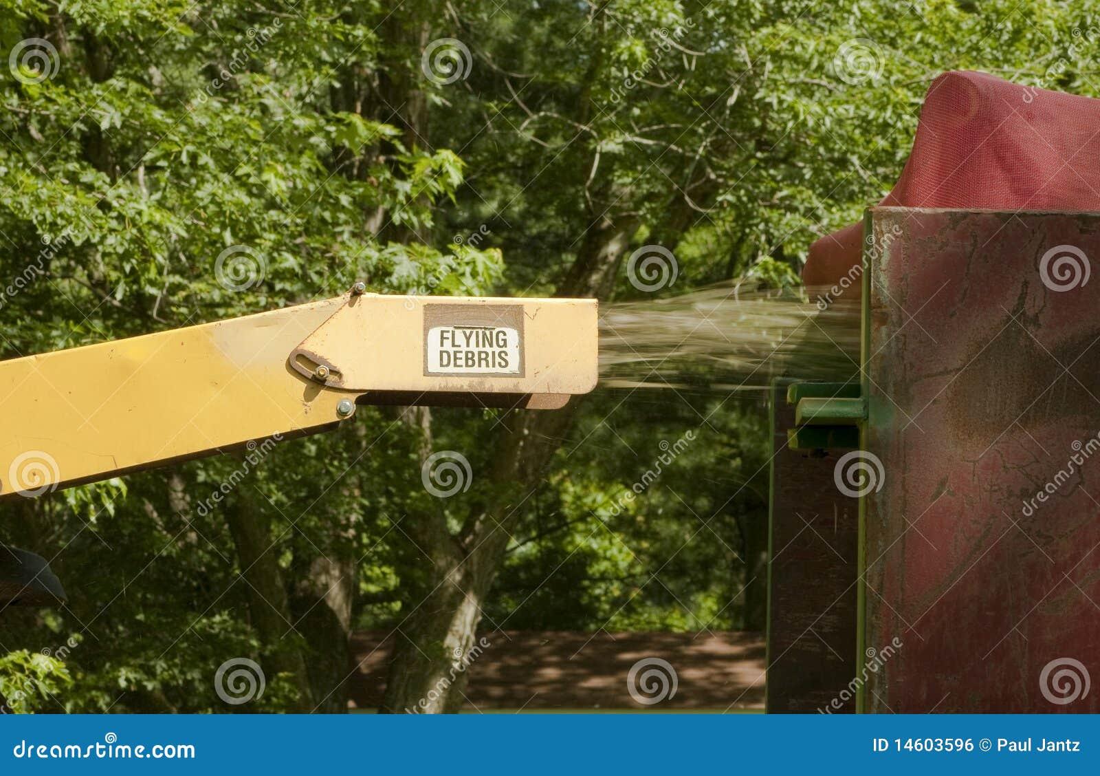 древесина действия chipper промышленная