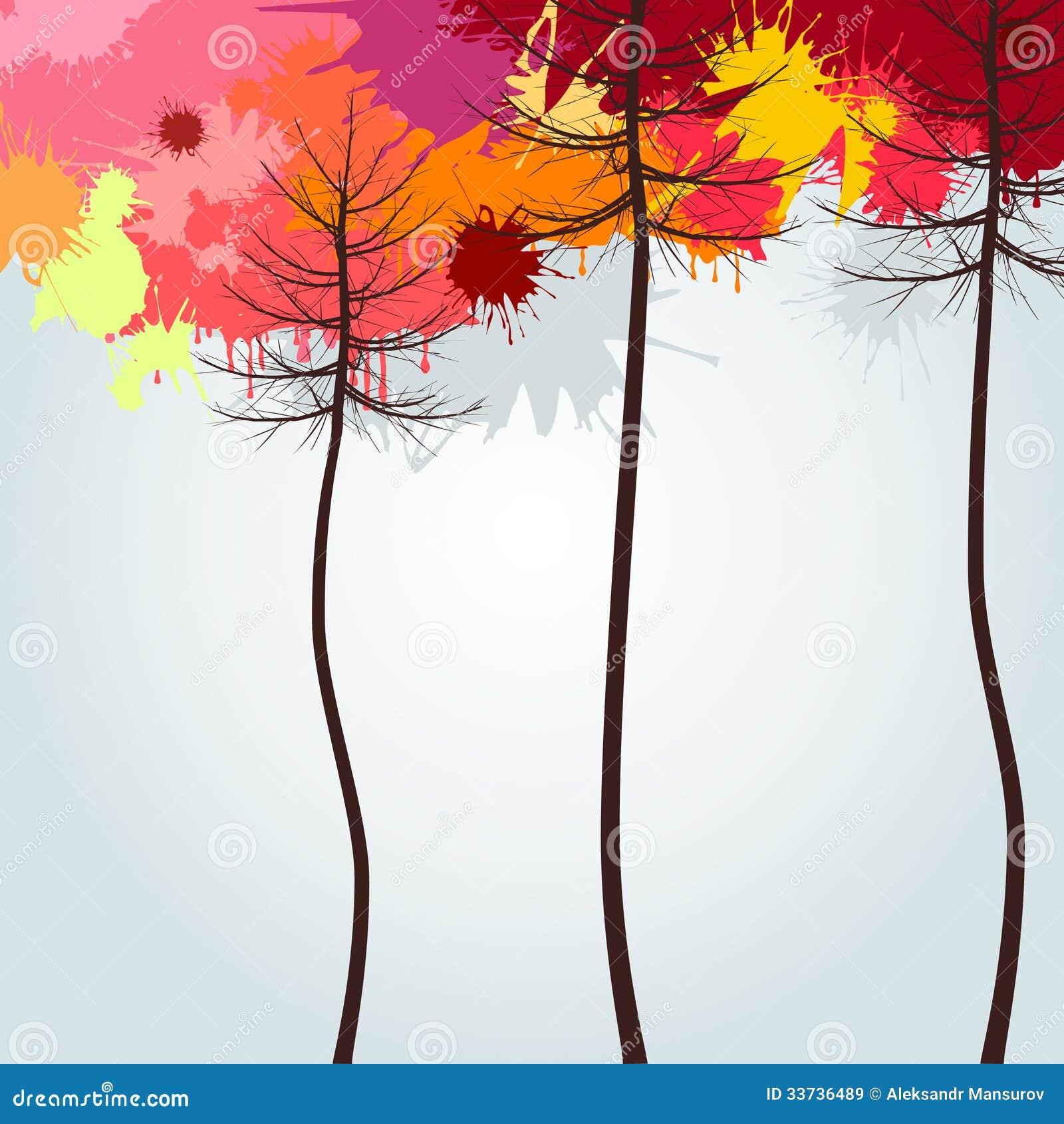 Древесина осени