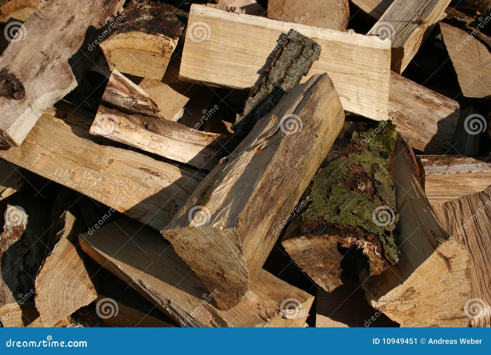 древесина пожара
