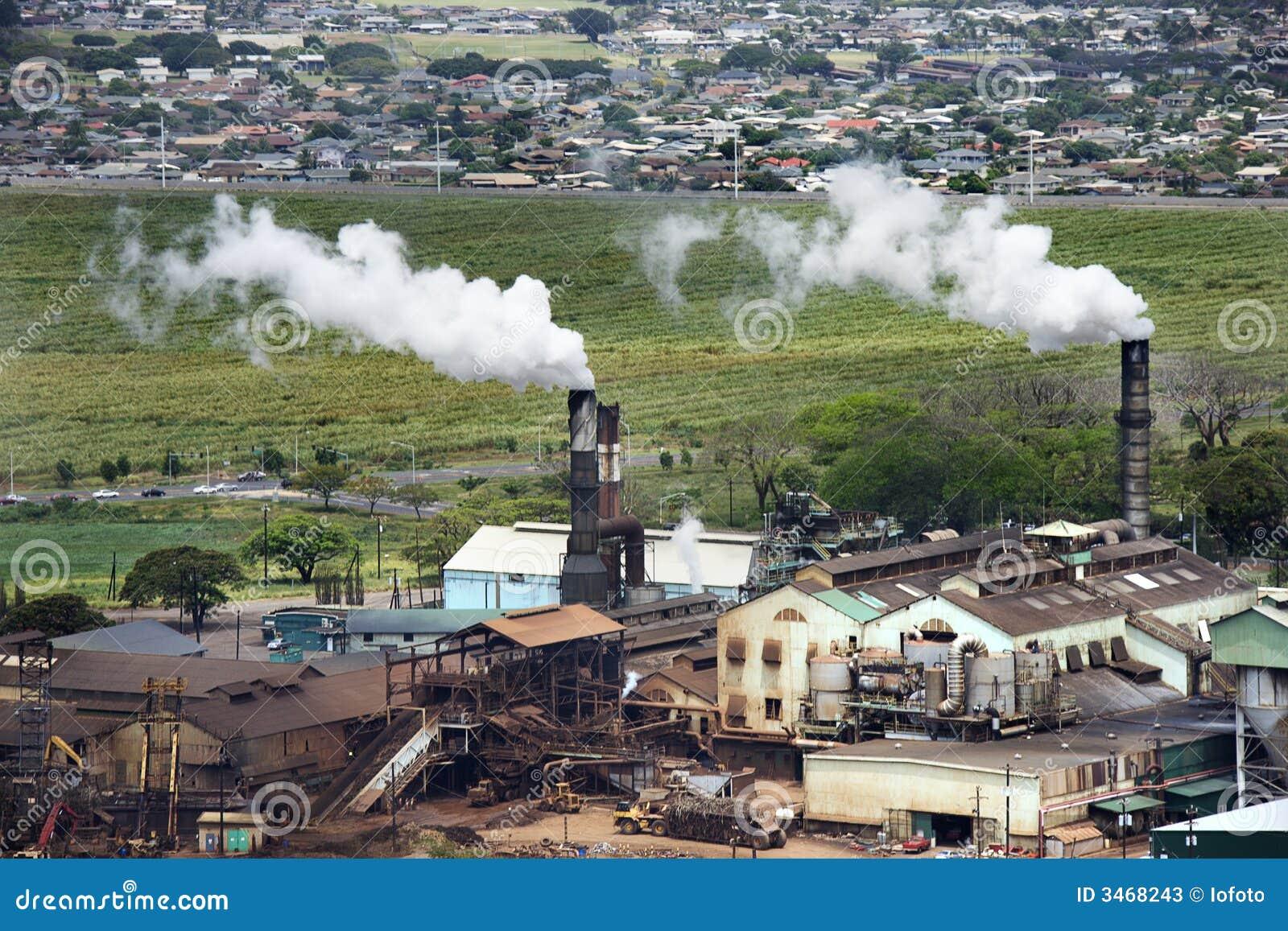 дымовые трубы фабрики