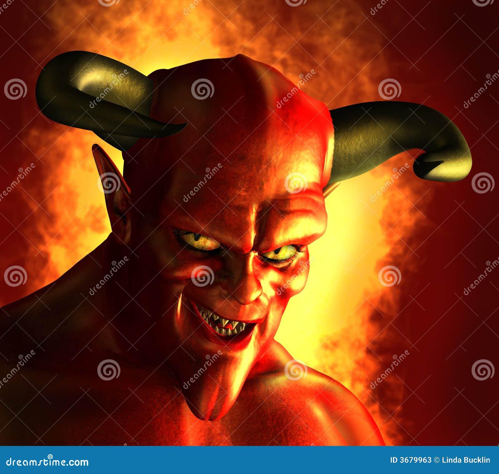 дьявольский оскал