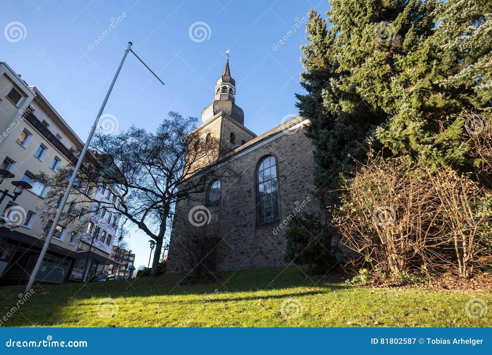 Евангелическая церковь Ремшайд Германия