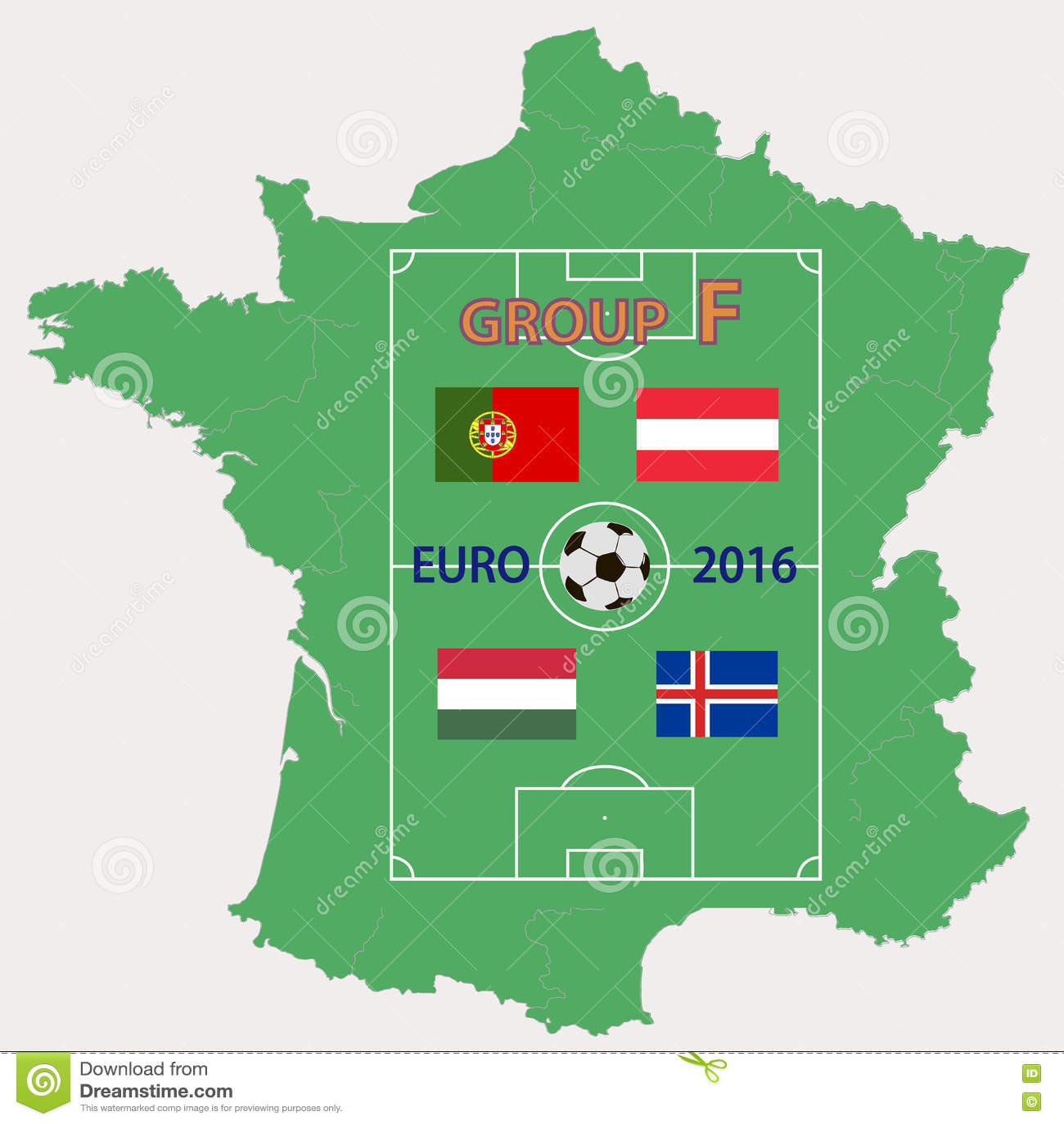 Download ЕВРО 2016 группа f иллюстрация штока. иллюстрации насчитывающей франция - 72282500