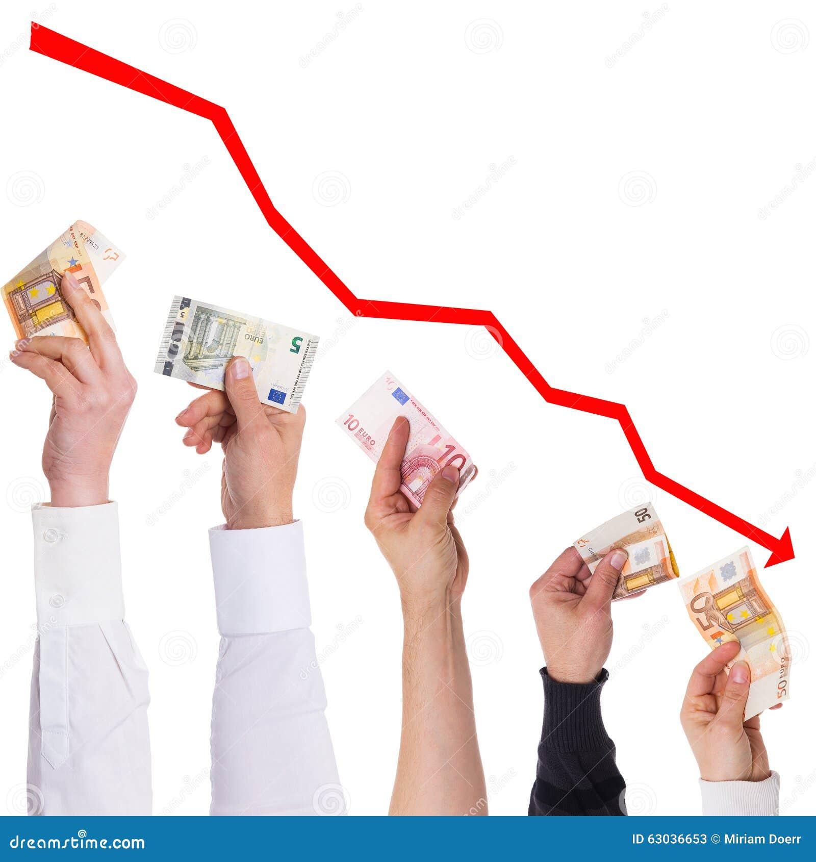 Евро концепции станет больше и больше более дешевым