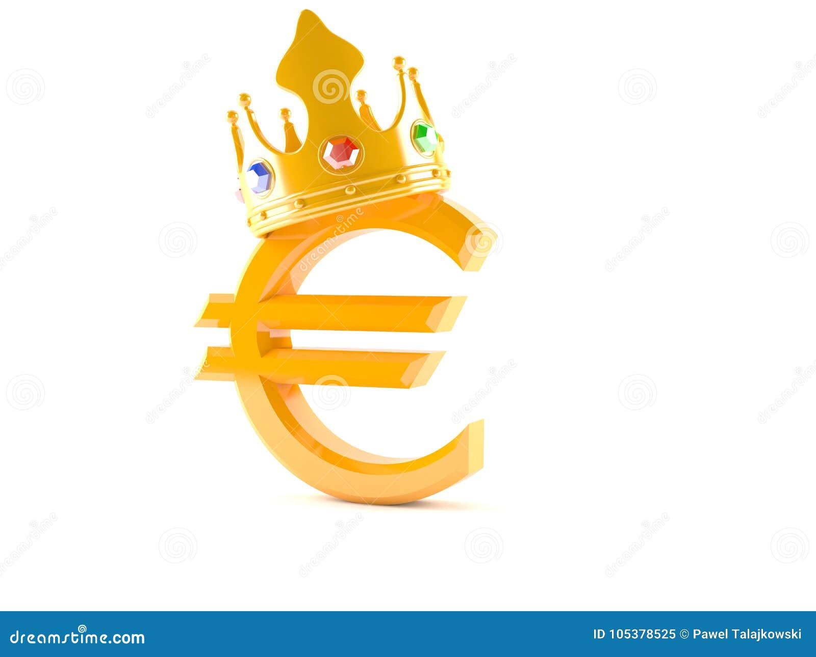 Евро с кроной