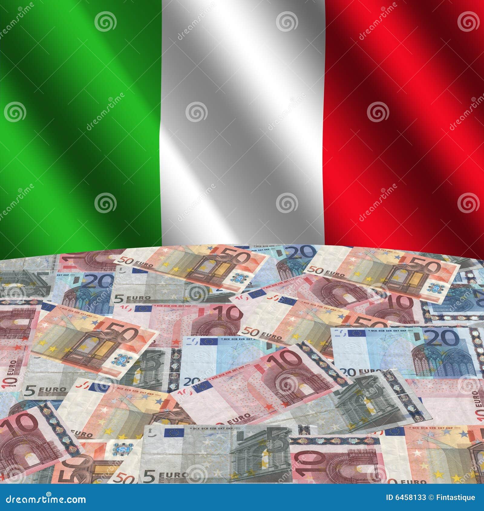 евро flag итальянка