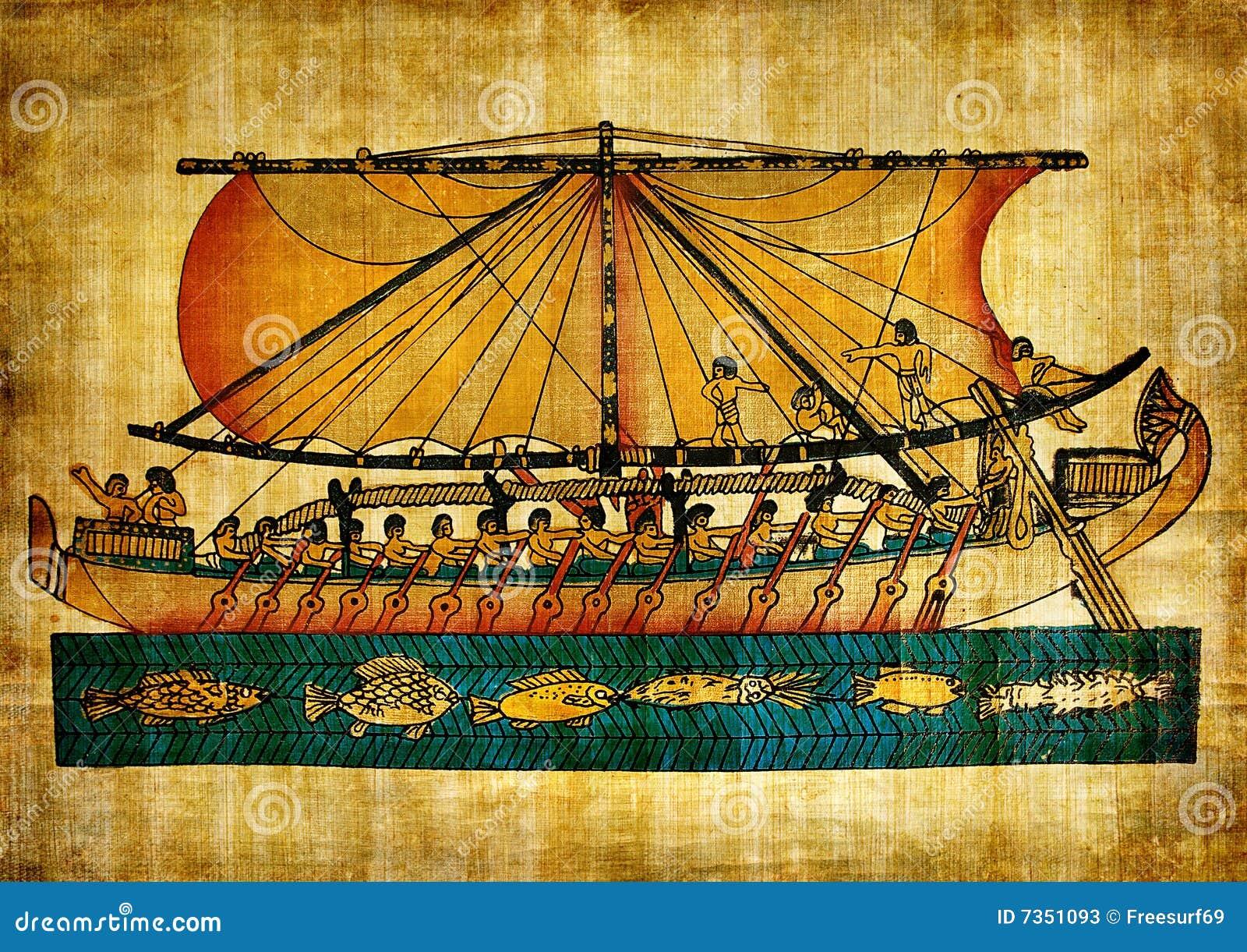 египетский старый papyrus