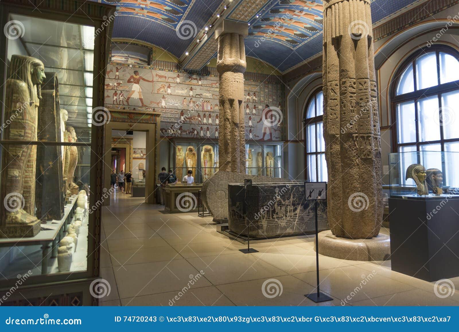 Египетское и близко восточное собрание от истории музея изобразительных искусств (музея Kunsthistorisches), вена, Австрия