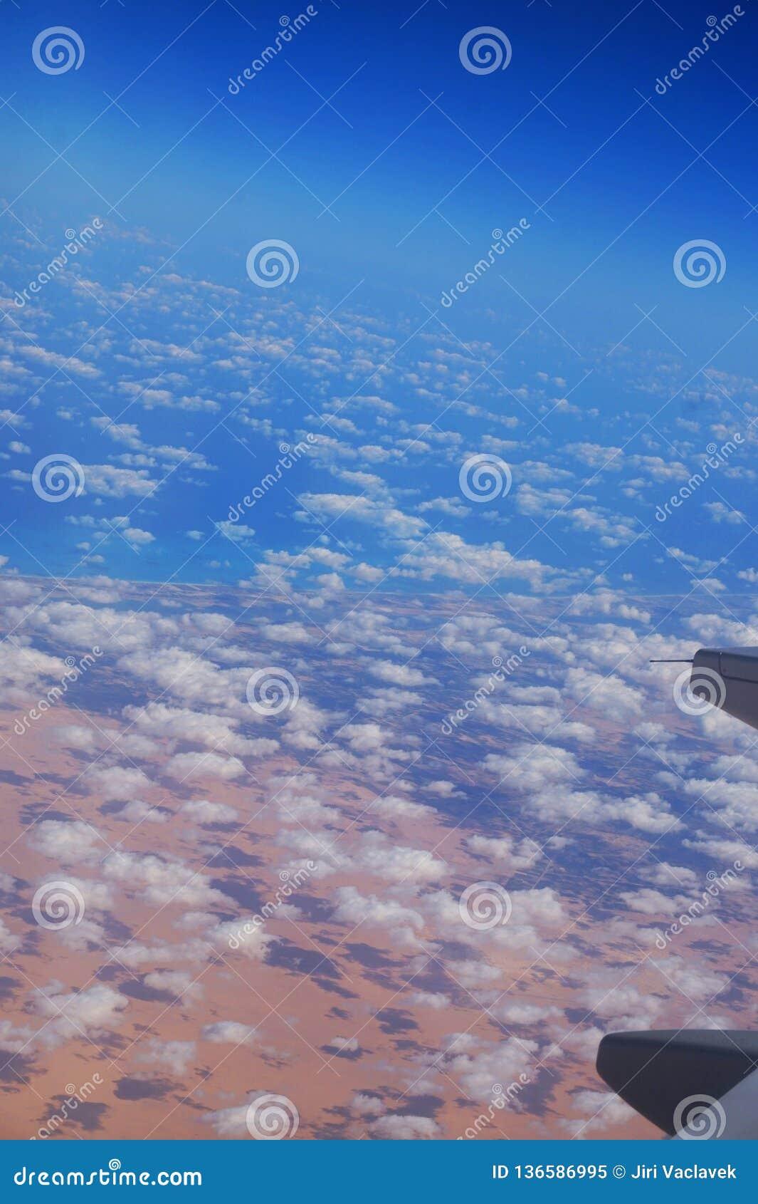 Египет от самолета