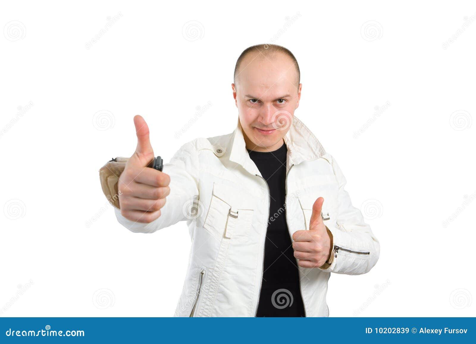его фото человека thumbs вверх