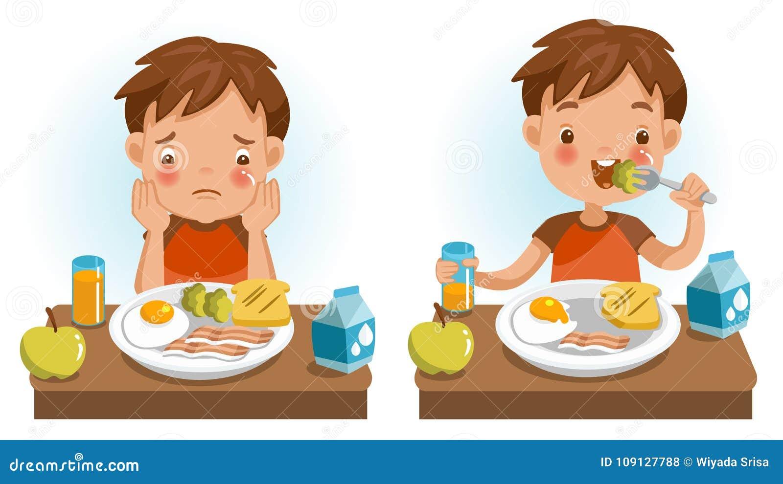 Еда детей