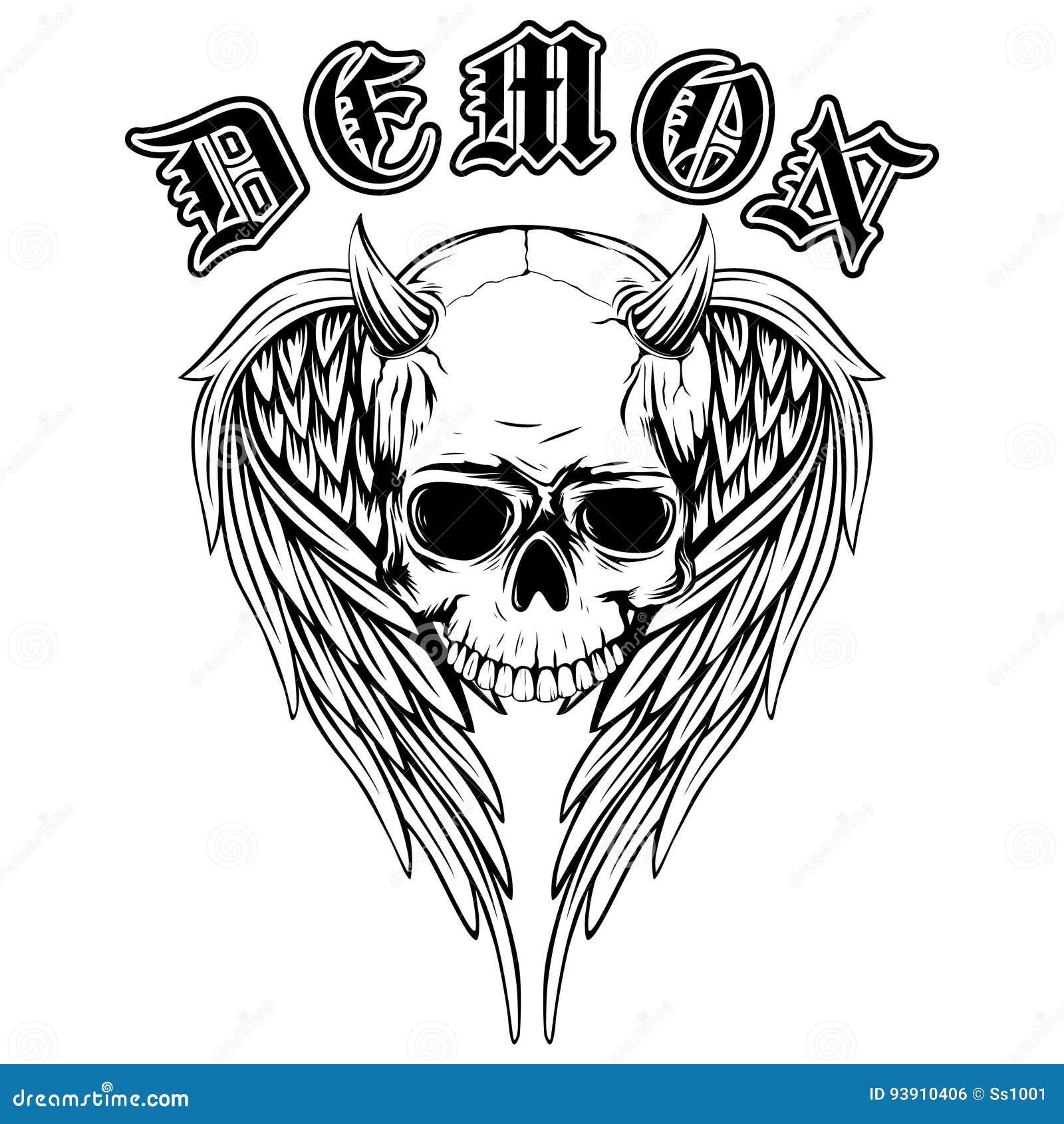 Картинка с надписью демон, сварщиков