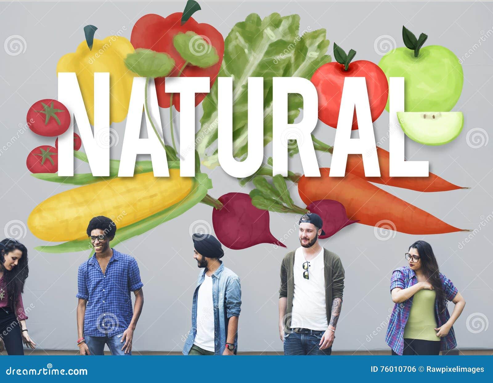 Естественная экологическая консервация засаживает концепцию природы