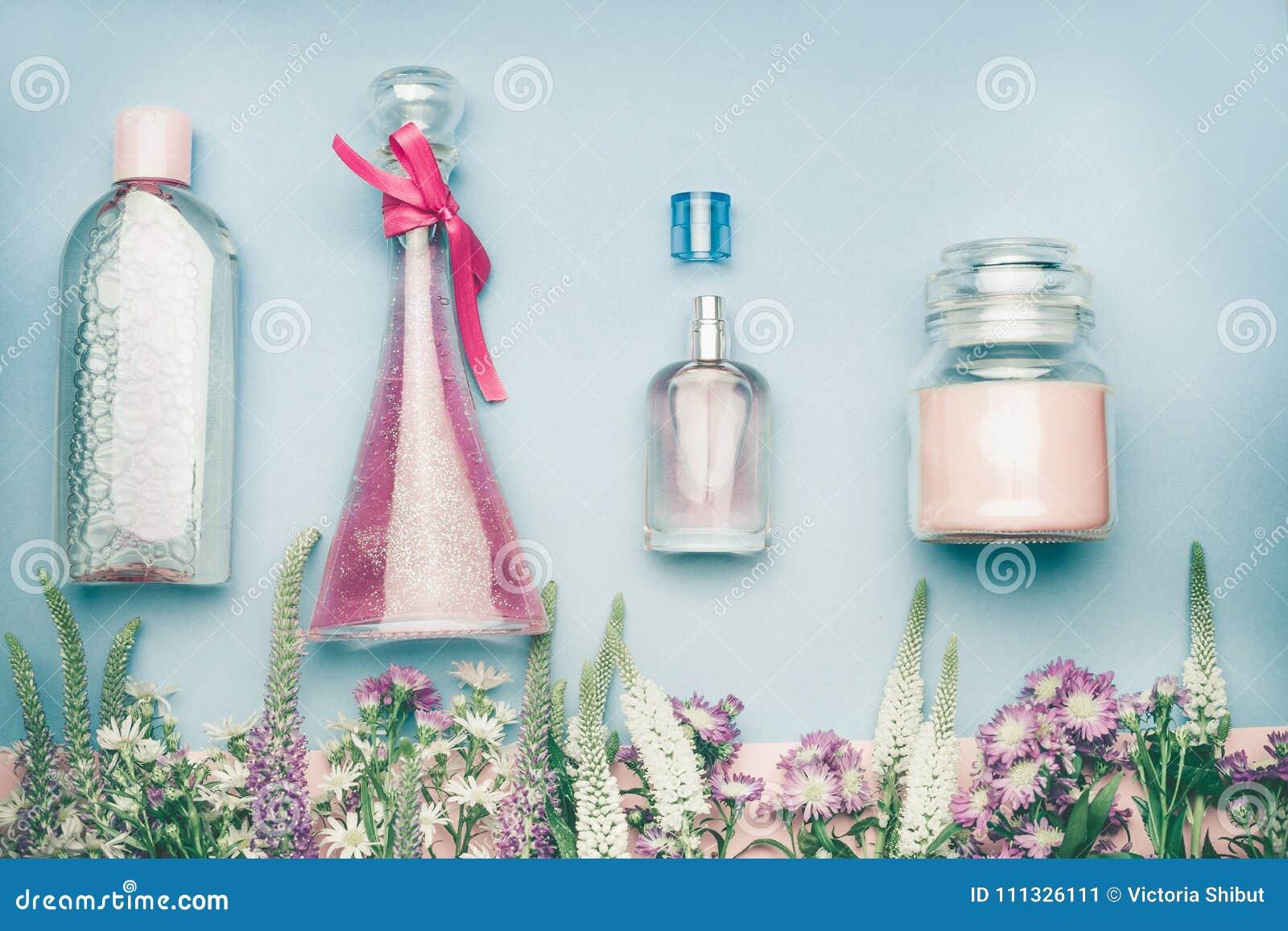 Естественные косметические продукты Опарникы и бутылки с водой тоники, тумана, дух, сливк, тонических и мицелларных на травяных л