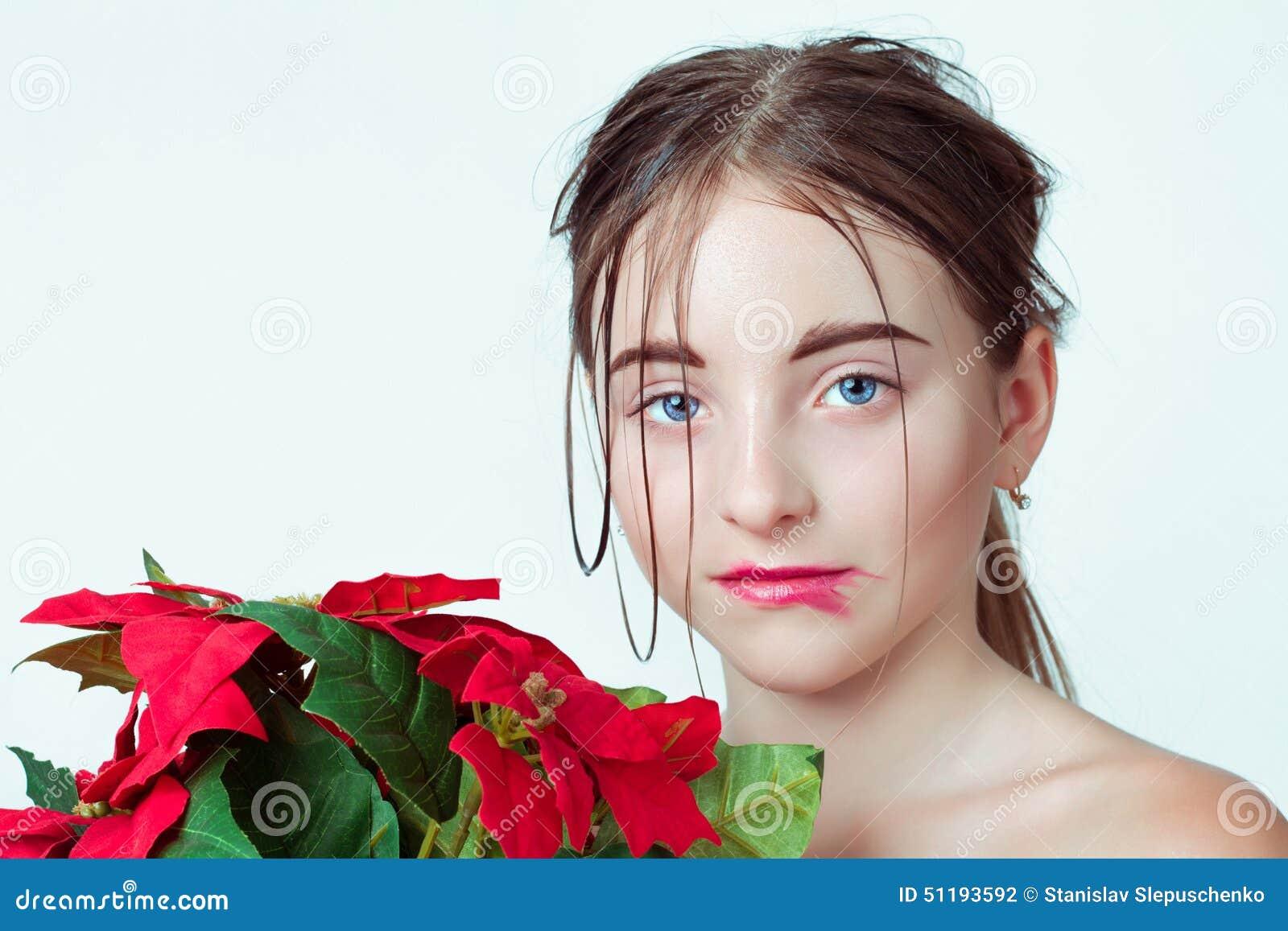 детеныши портрета девушки красотки E r
