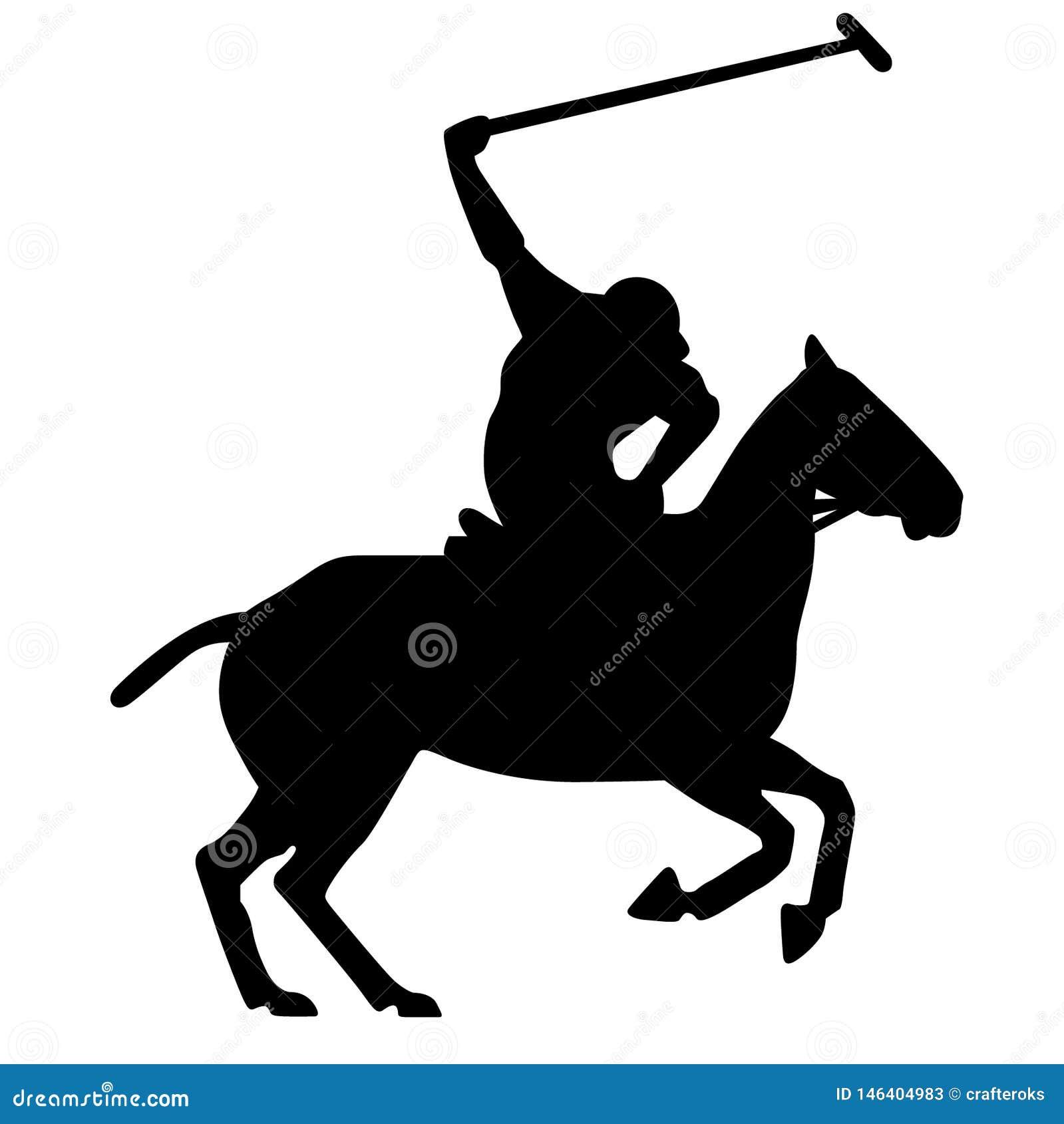 Ехать силуэт лошади указывая вектор пальца, Eps, логотип, значок, силуэт, иллюстрация crafteroks для различных польз