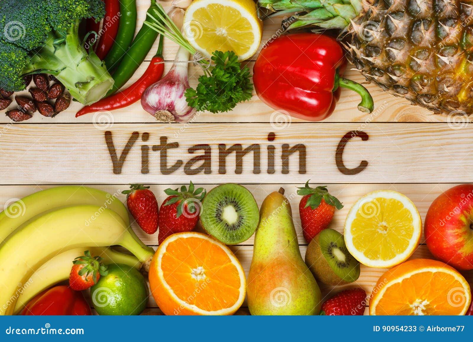 Еда высокая в витамин C