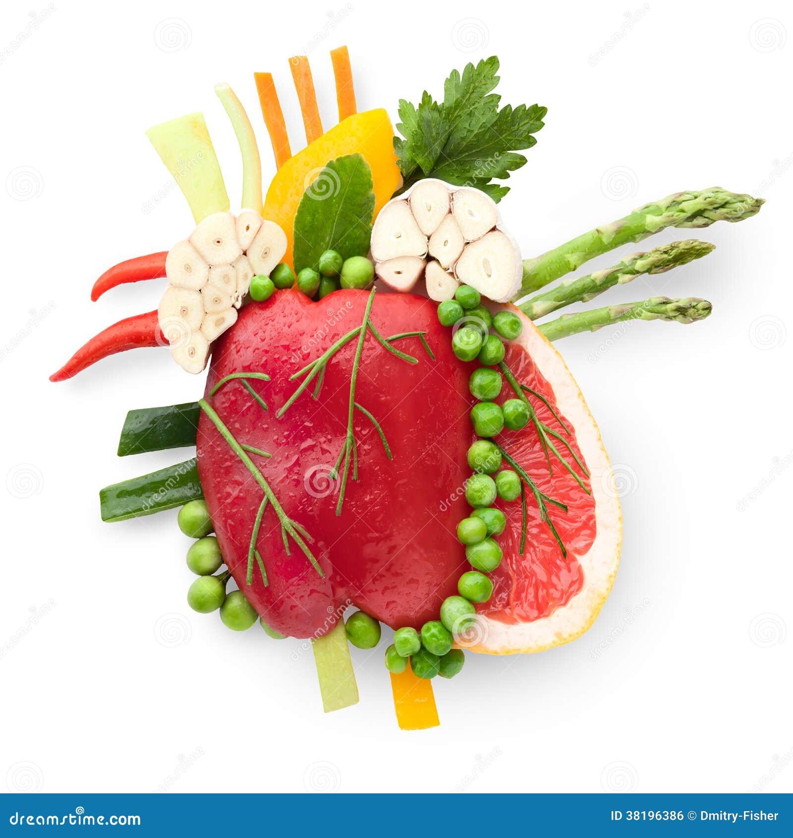 Еда для сердца.