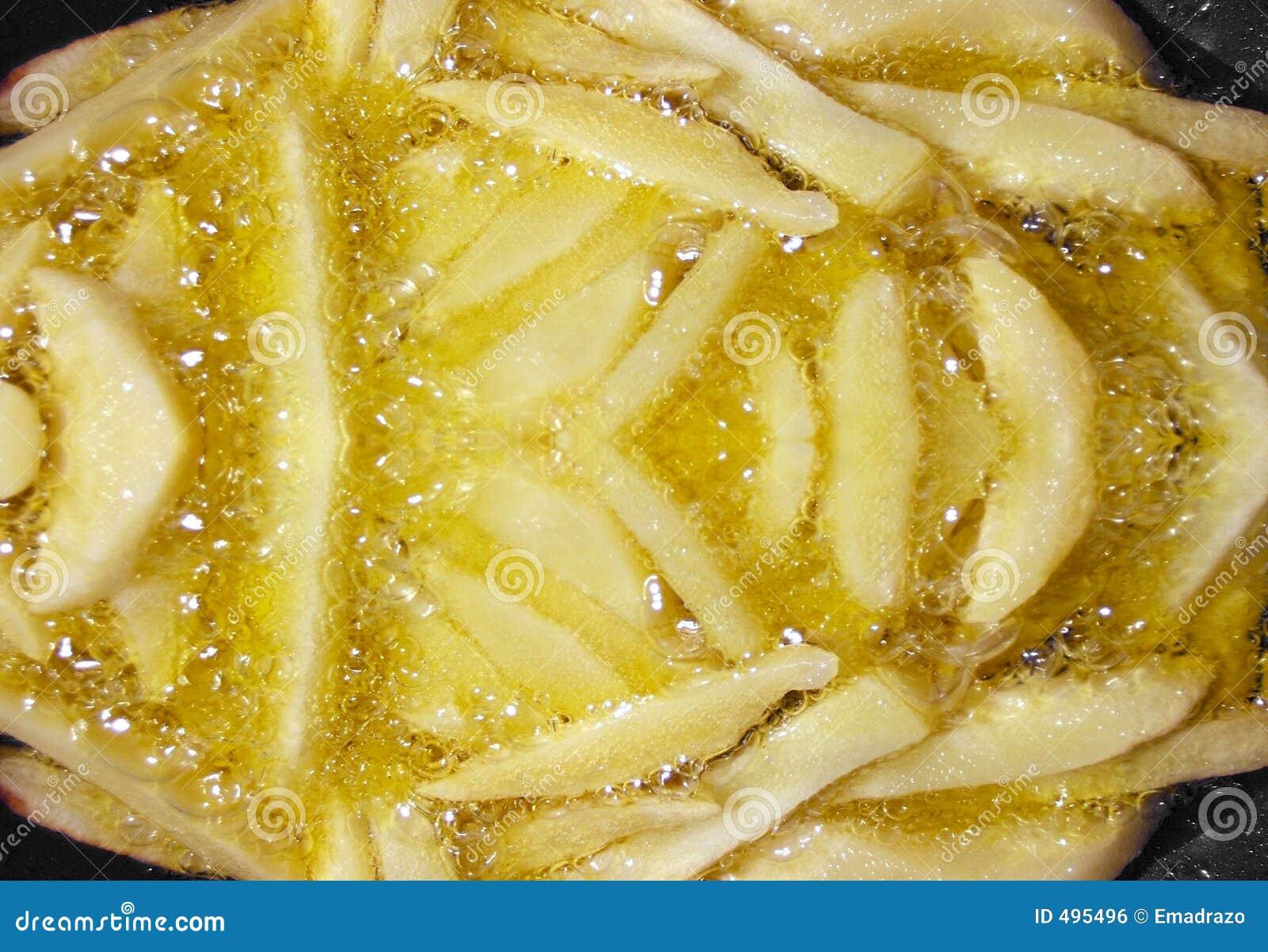 жарить картошки