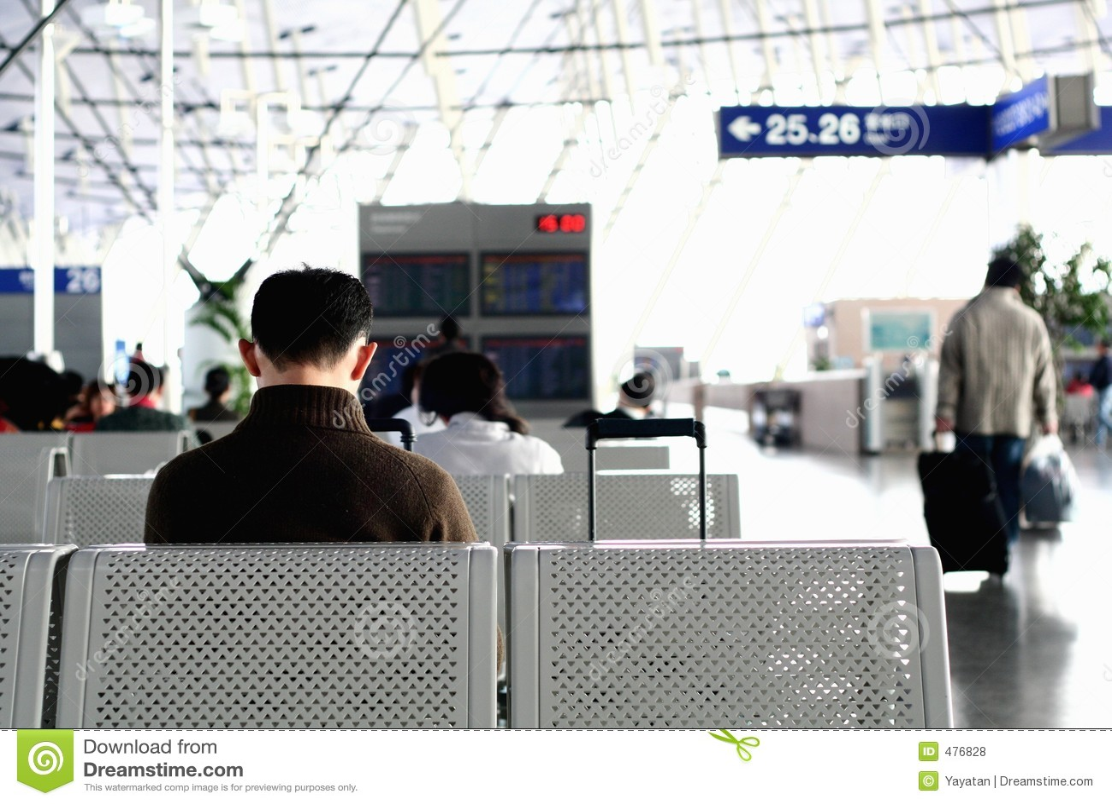 ждать авиапорта