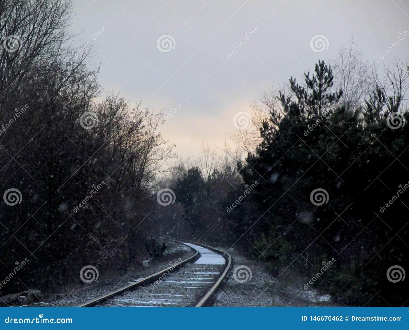 Железные дороги в зиме