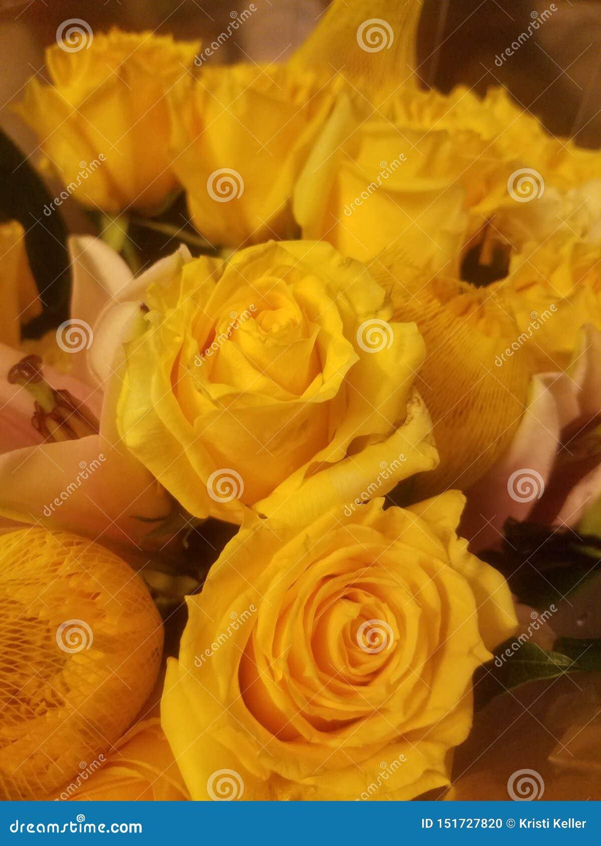 Желтый букет