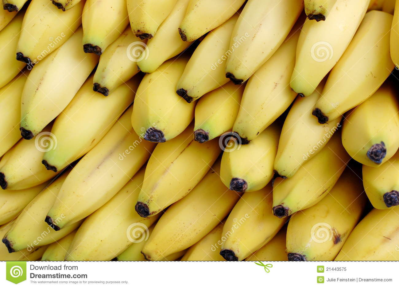 желтый цвет бананов
