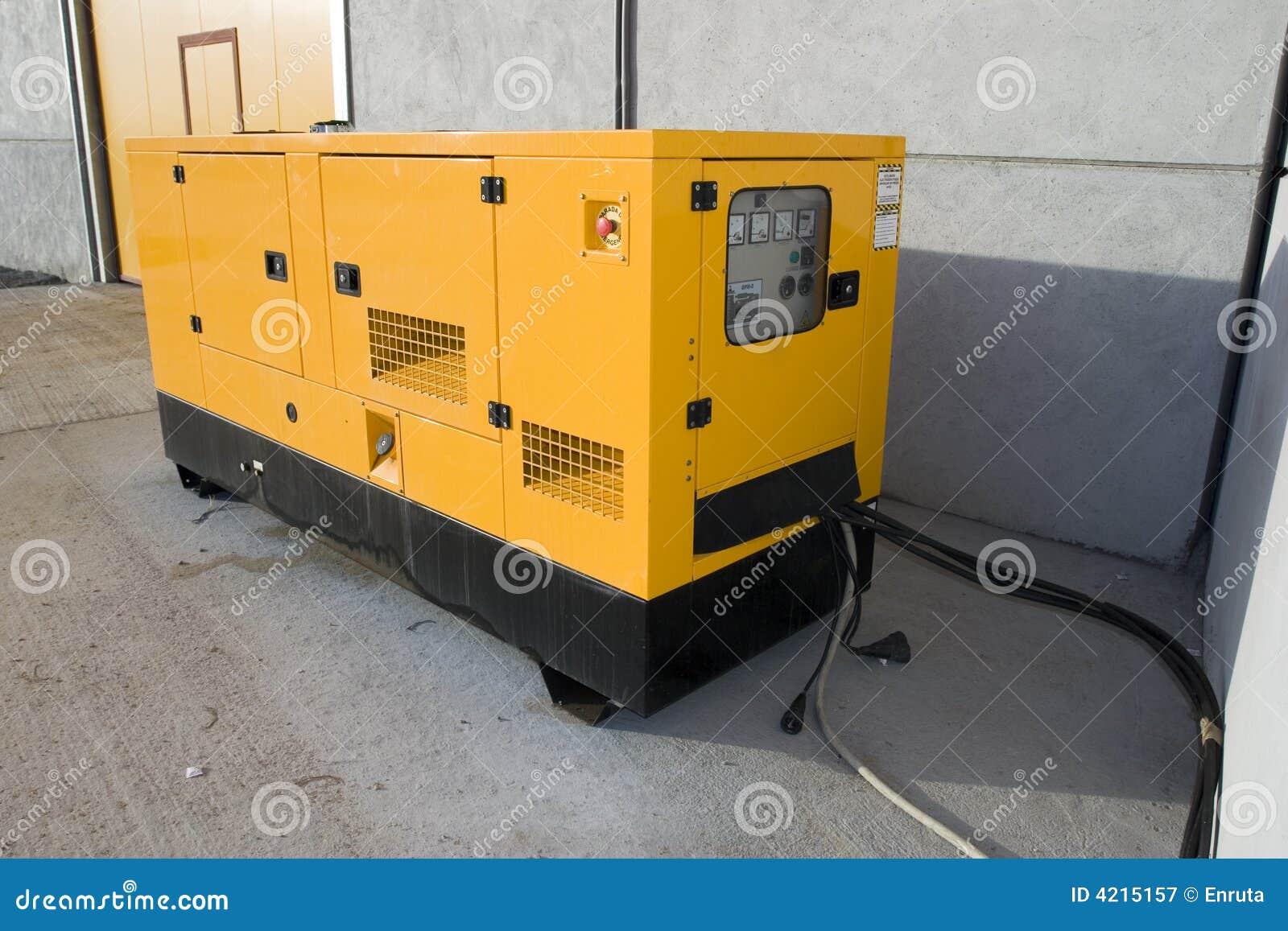 желтый цвет генератора