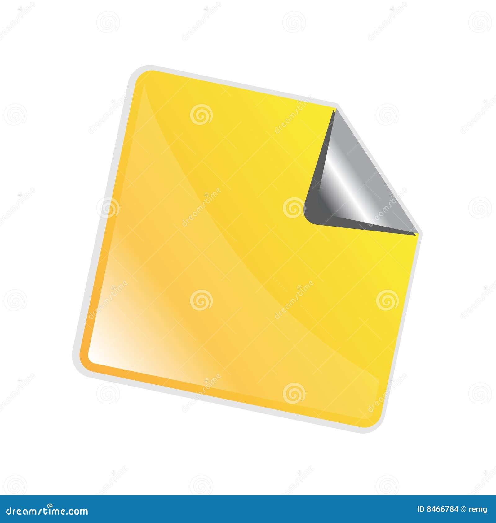 желтый цвет стикера шелушения