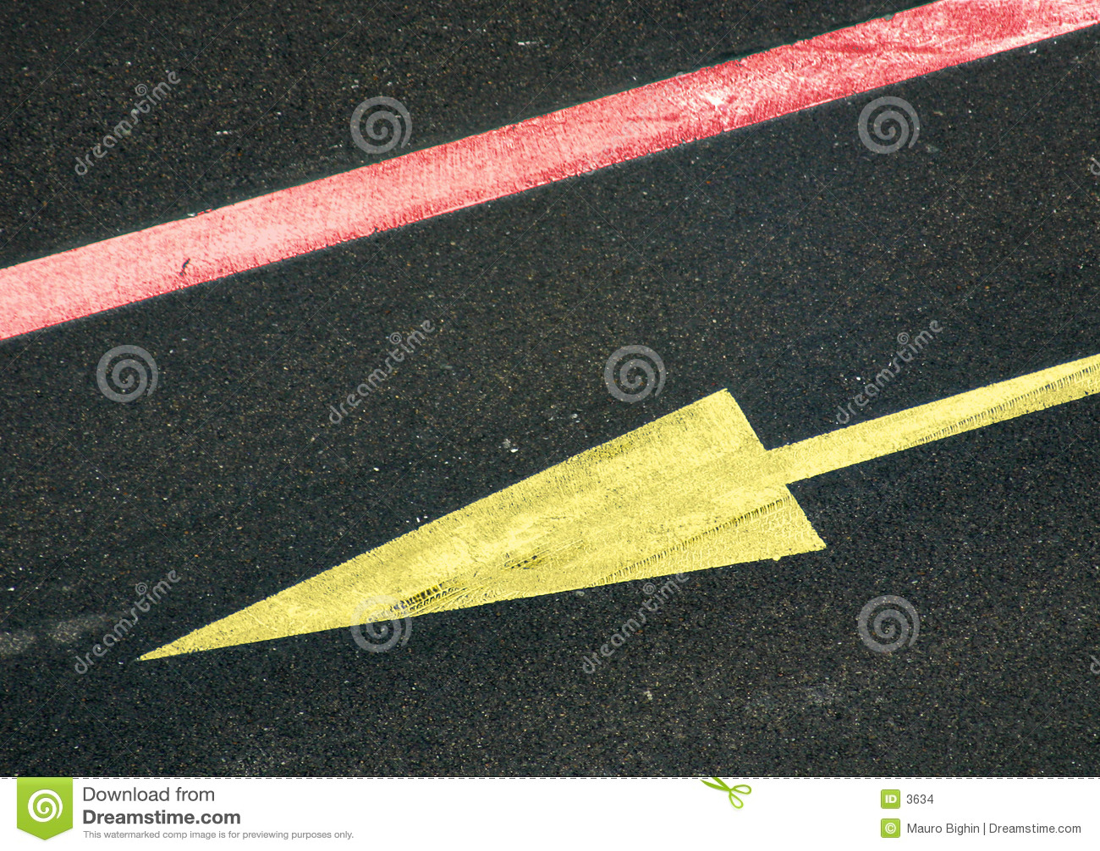 желтый цвет стрелки