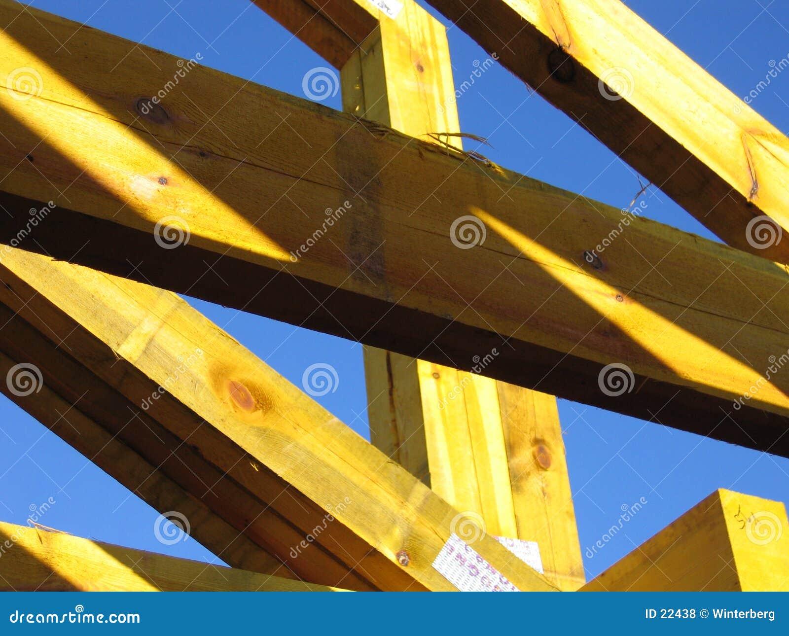 желтый цвет ферменной конструкции