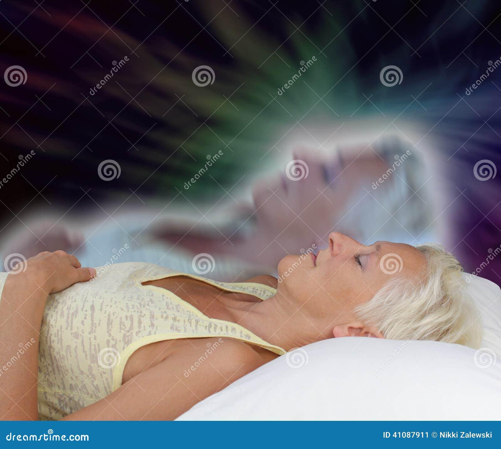 Женский астральный опыт проекции