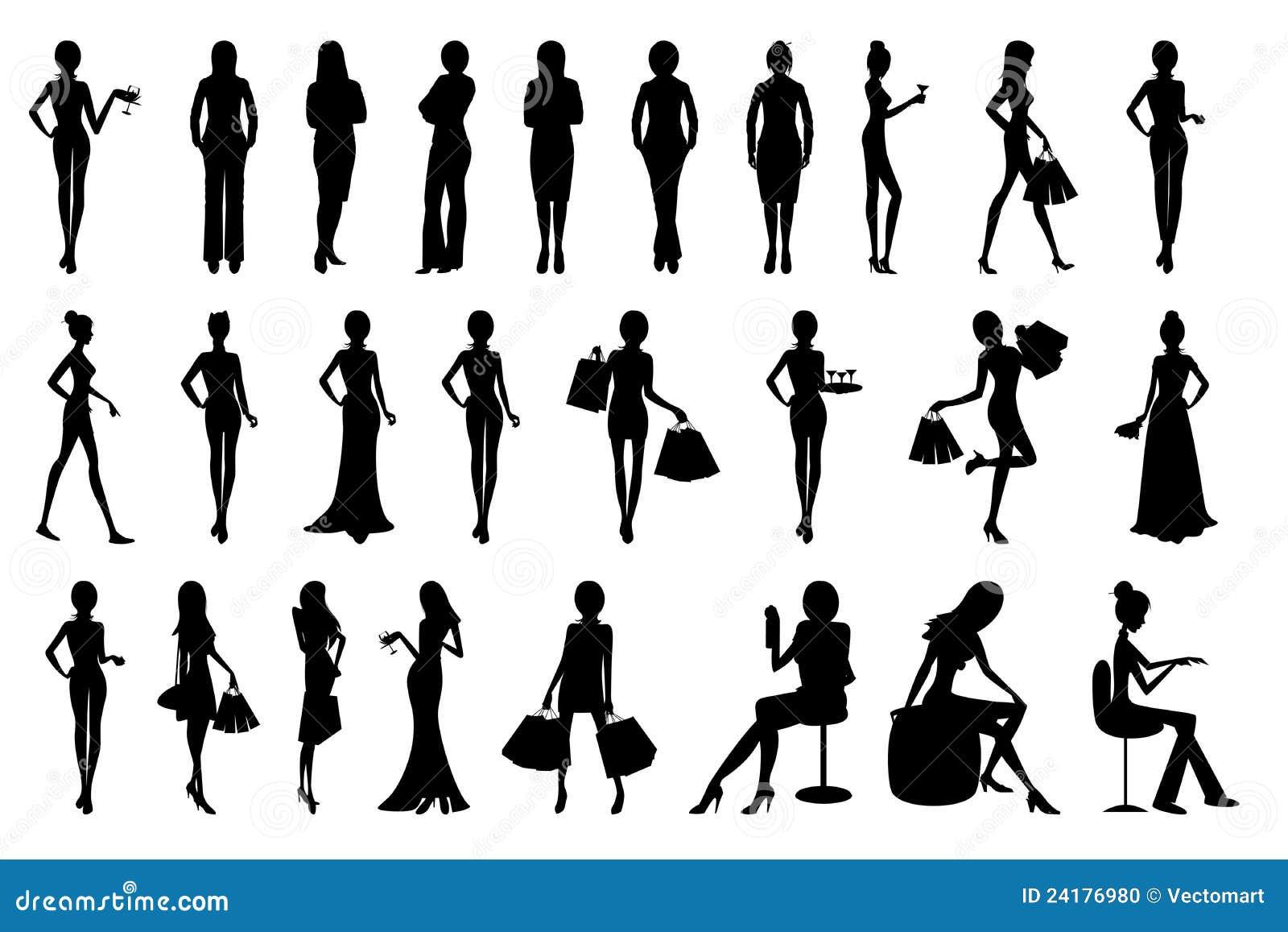 Женский силуэт картинки 162