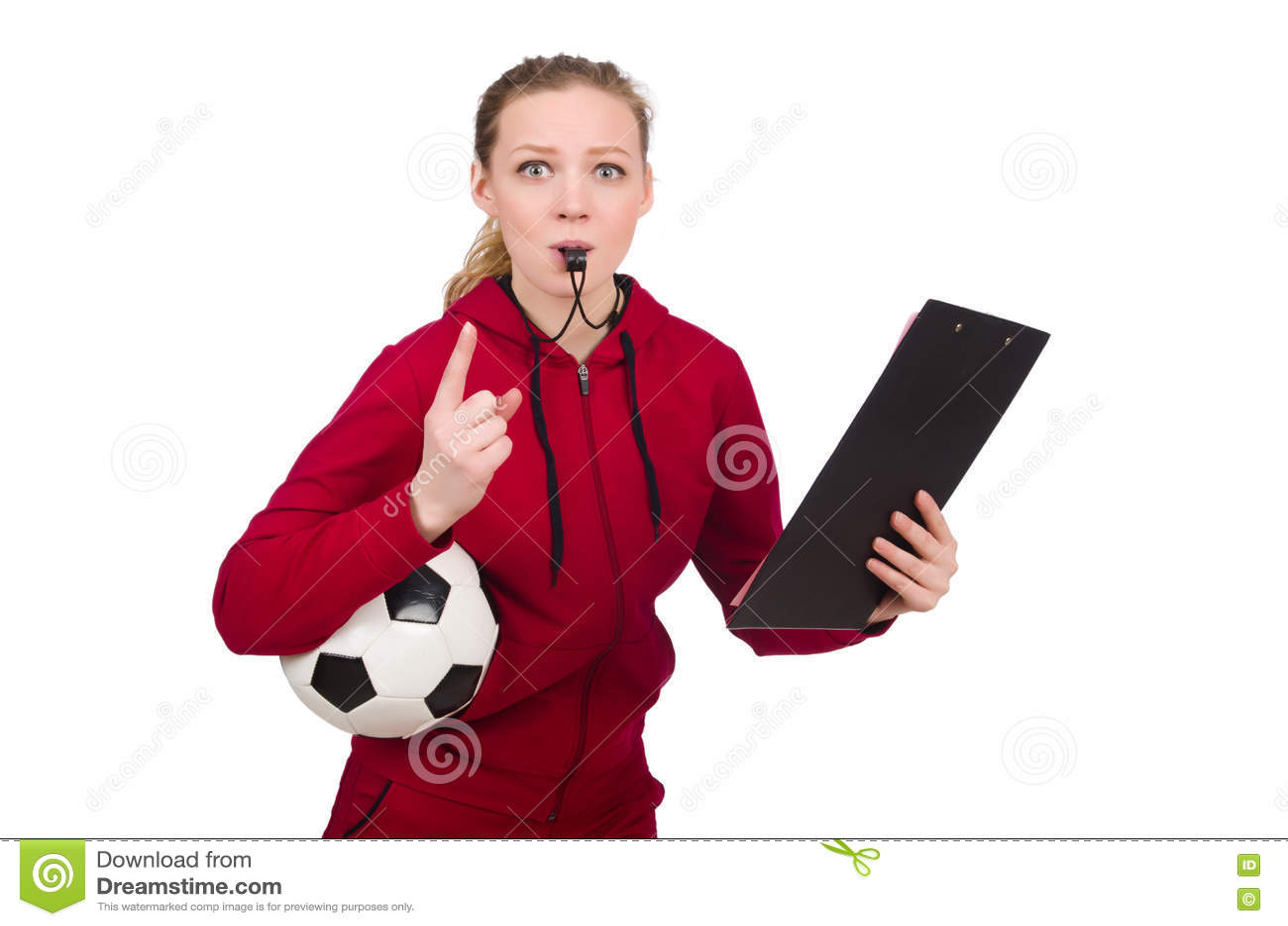Женщина в концепции спорт изолированная на белизне