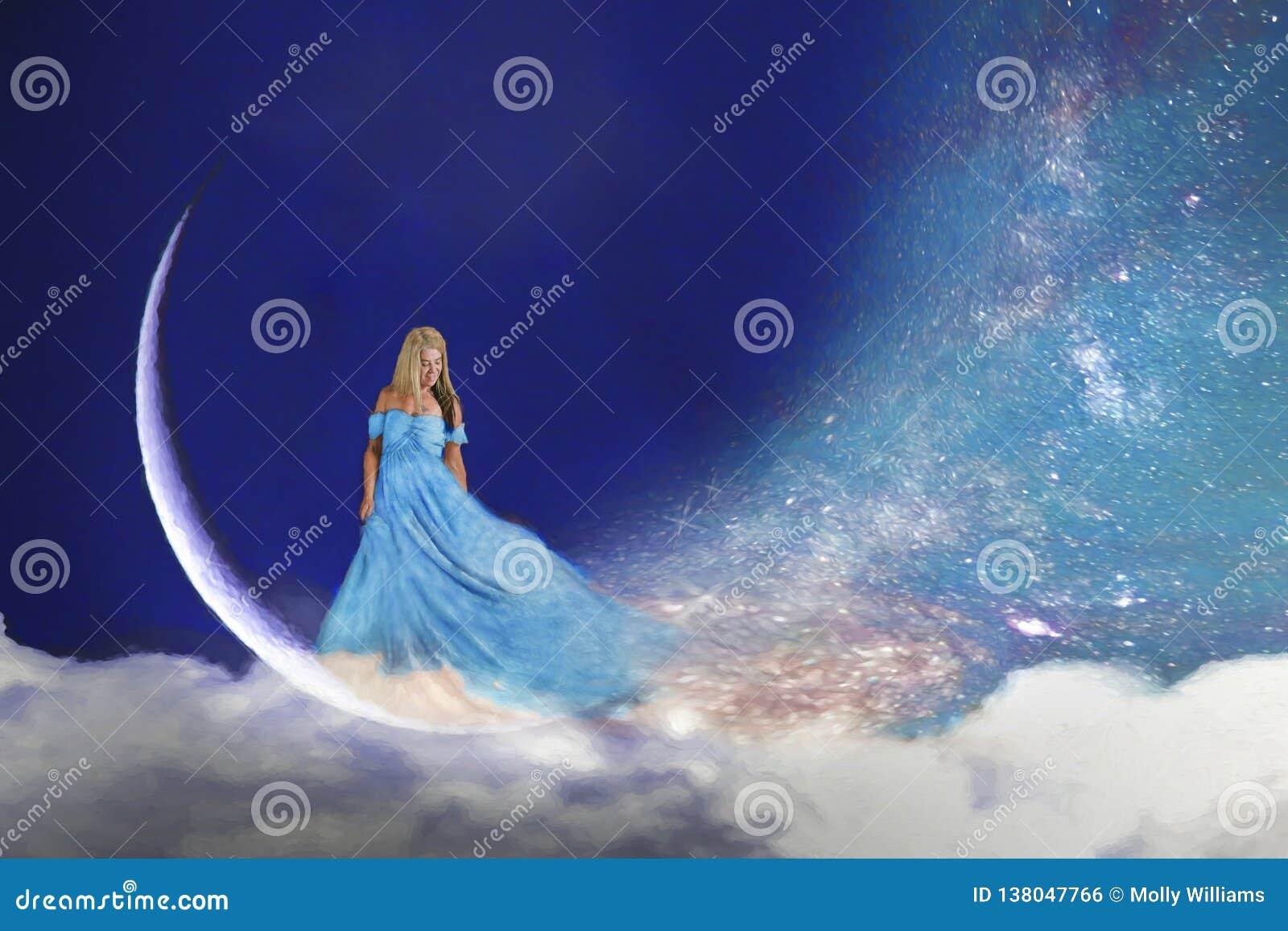 Женщина в луне