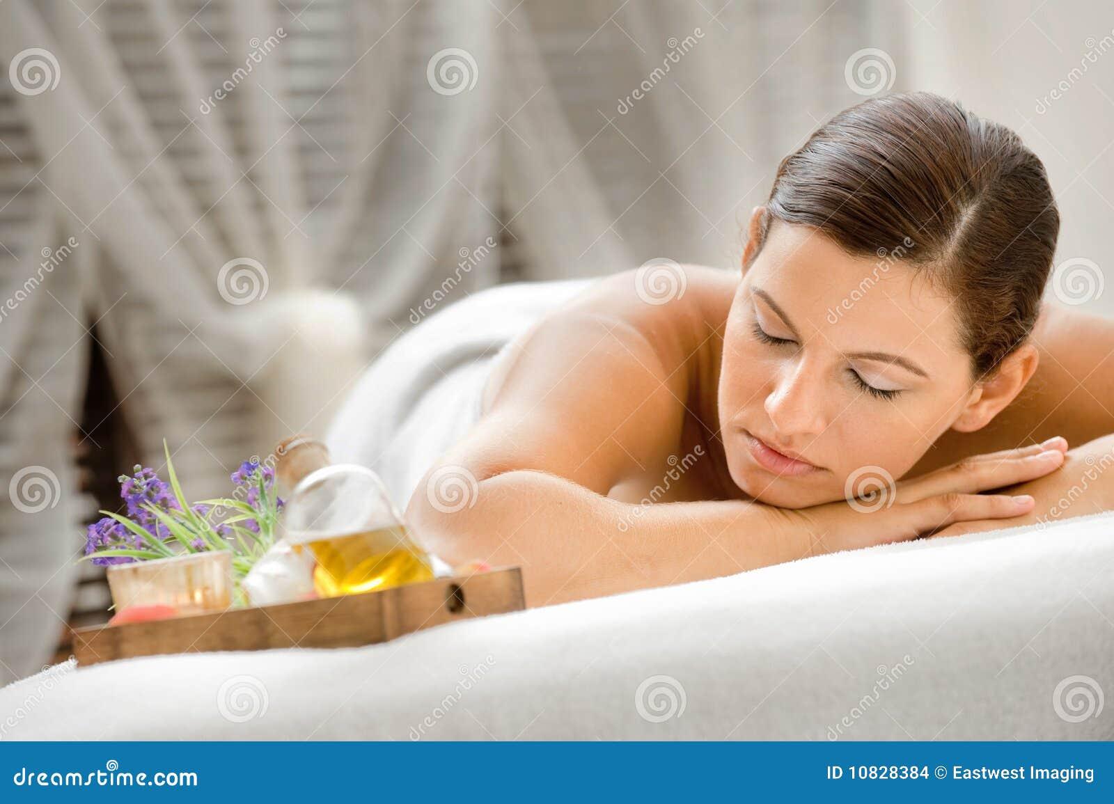 Женщина в спе