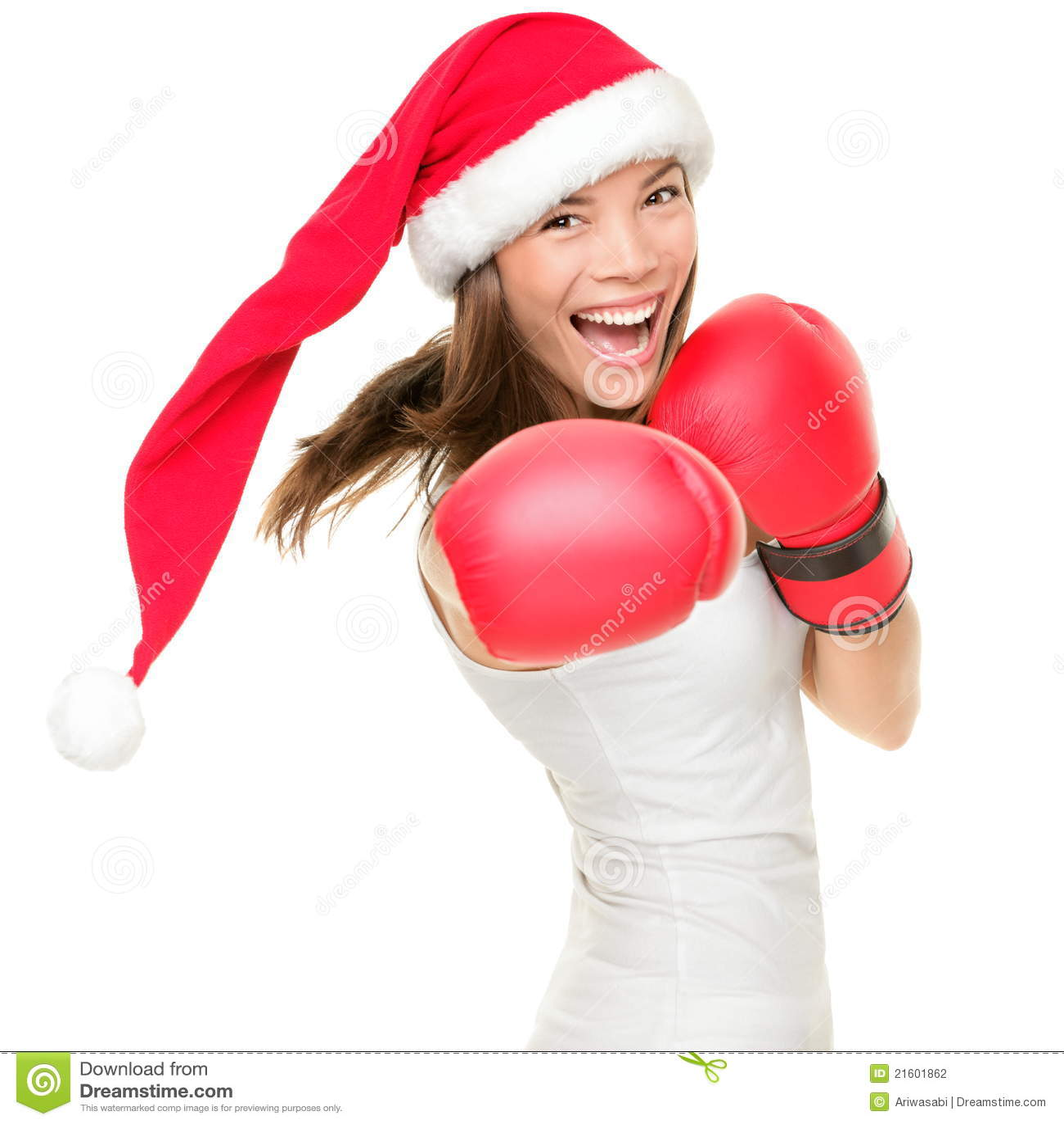 женщина рождества бокса