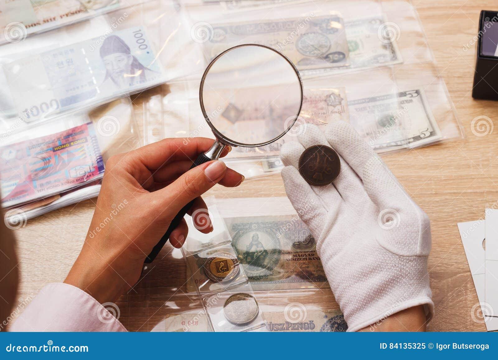 картинка лупа с монетами бесценная наживка
