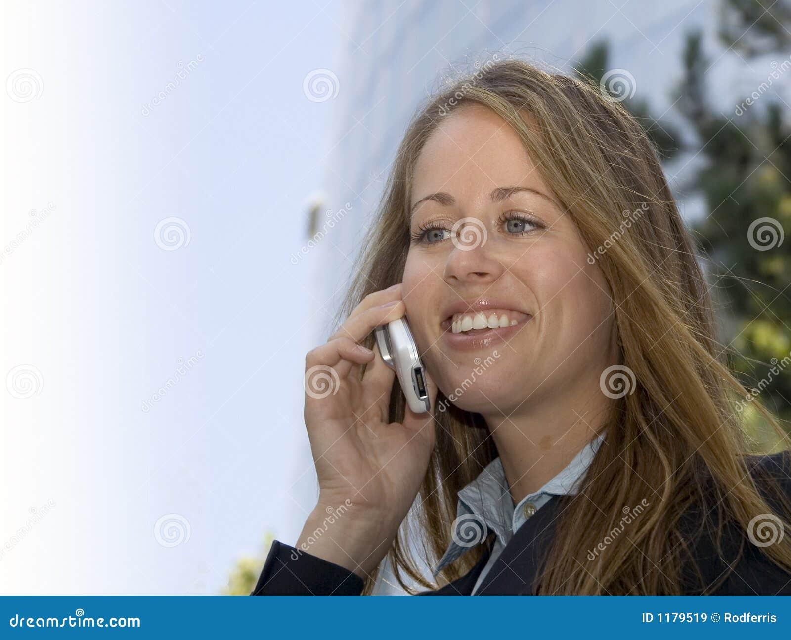 женщина сотового телефона дела