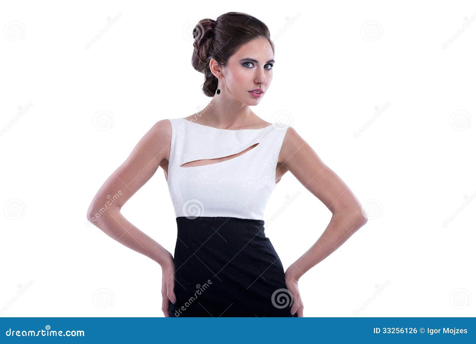 Женщина стиля моды