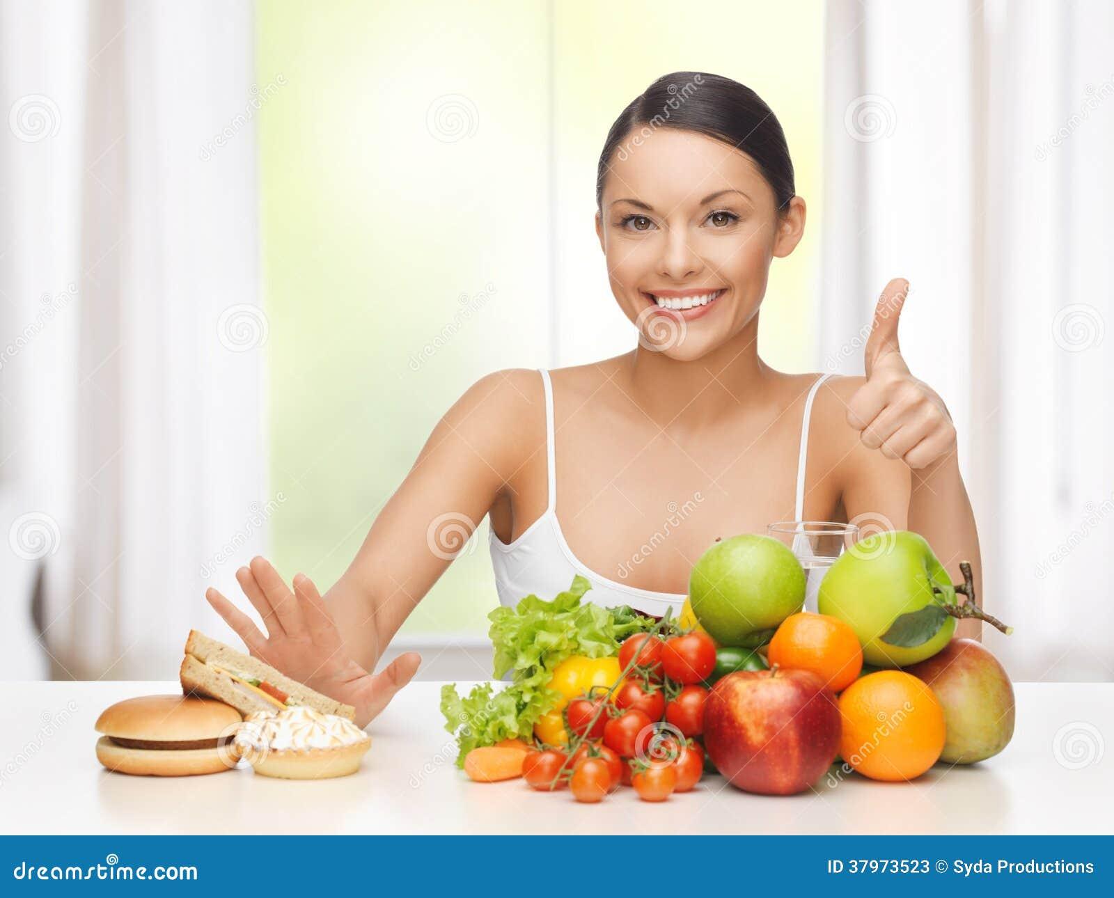Как правильно держать диету?