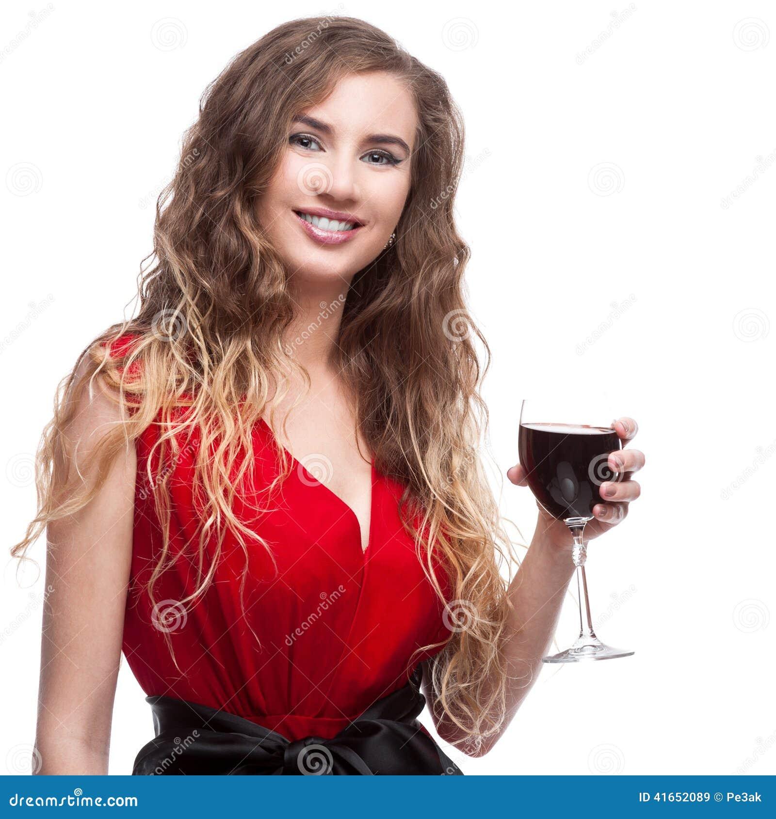 Женщина с рюмкой