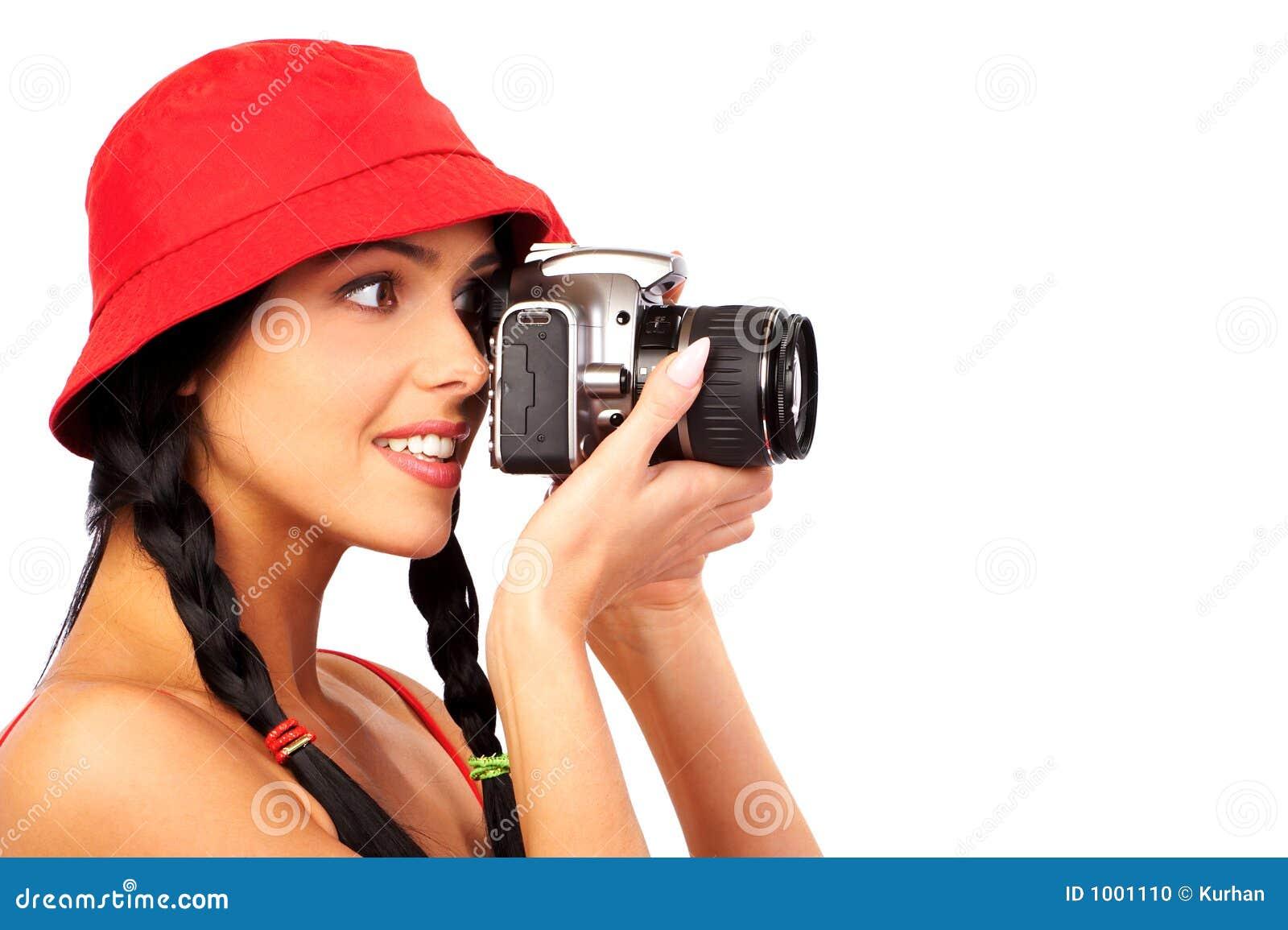 Девушка фотоаппарат отправить сообщение