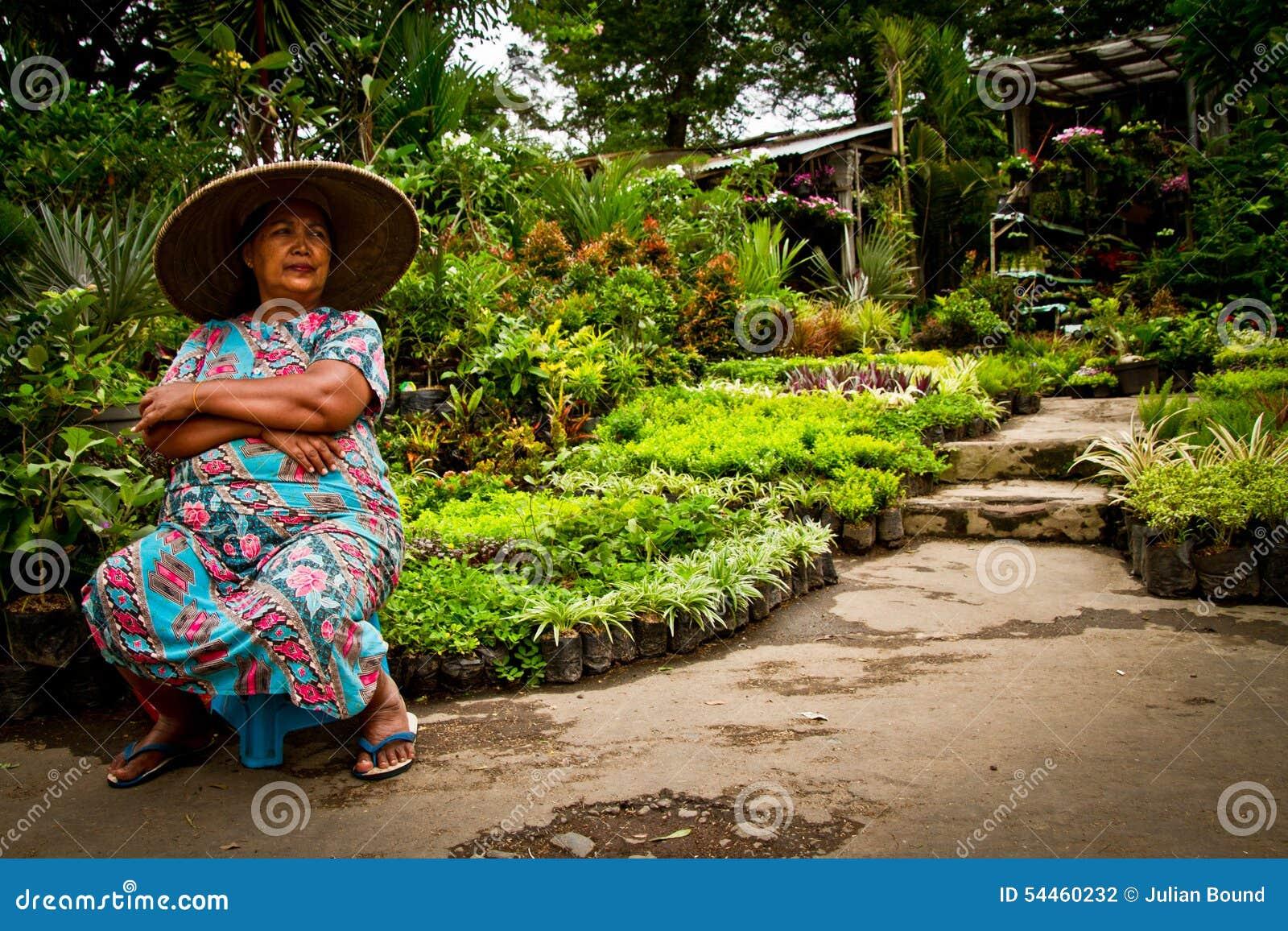 Женщина Malang, Индонезии