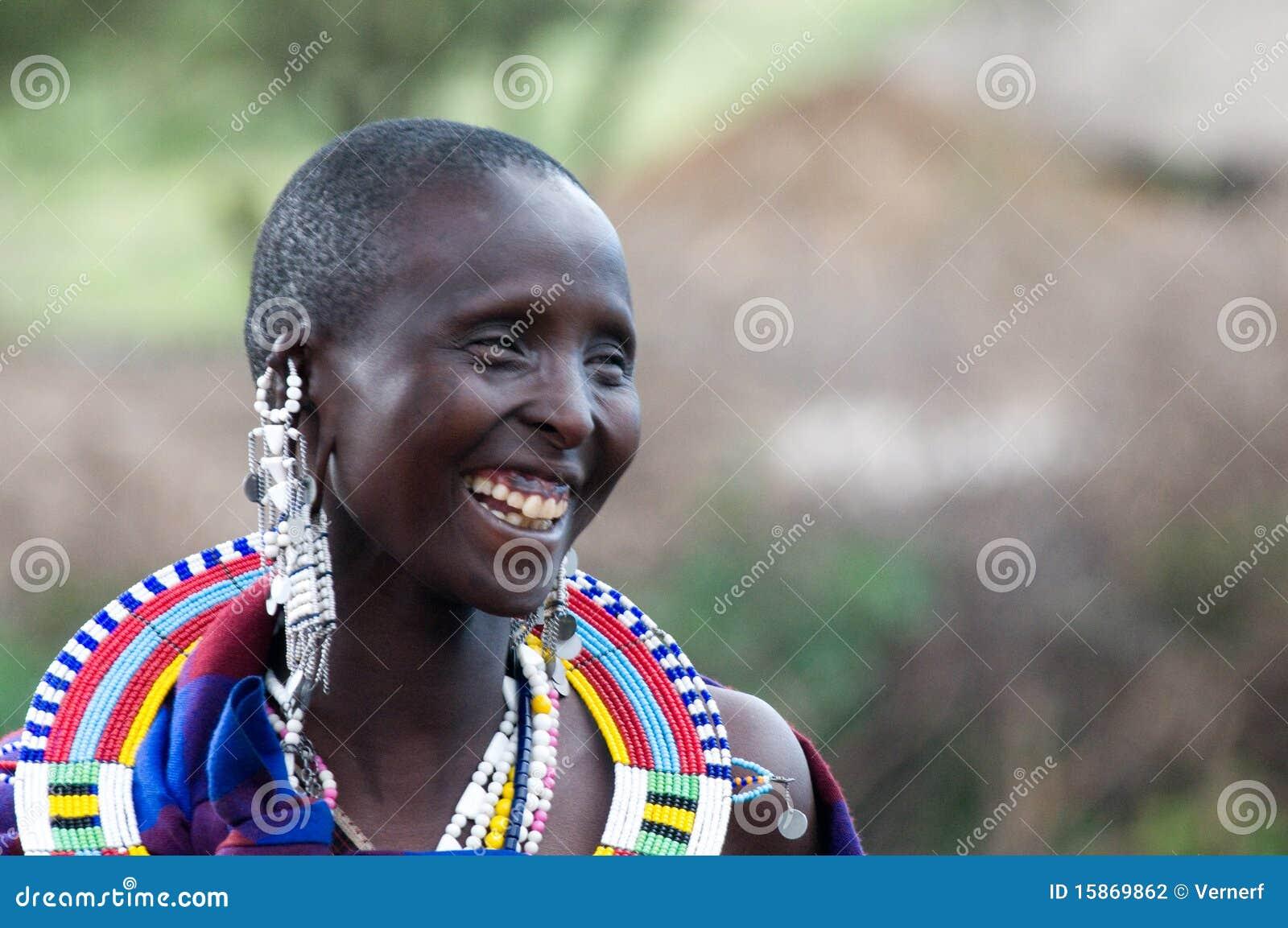 женщина masai сь