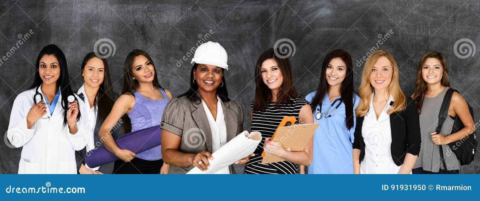 Женщины в трудовом ресурсе